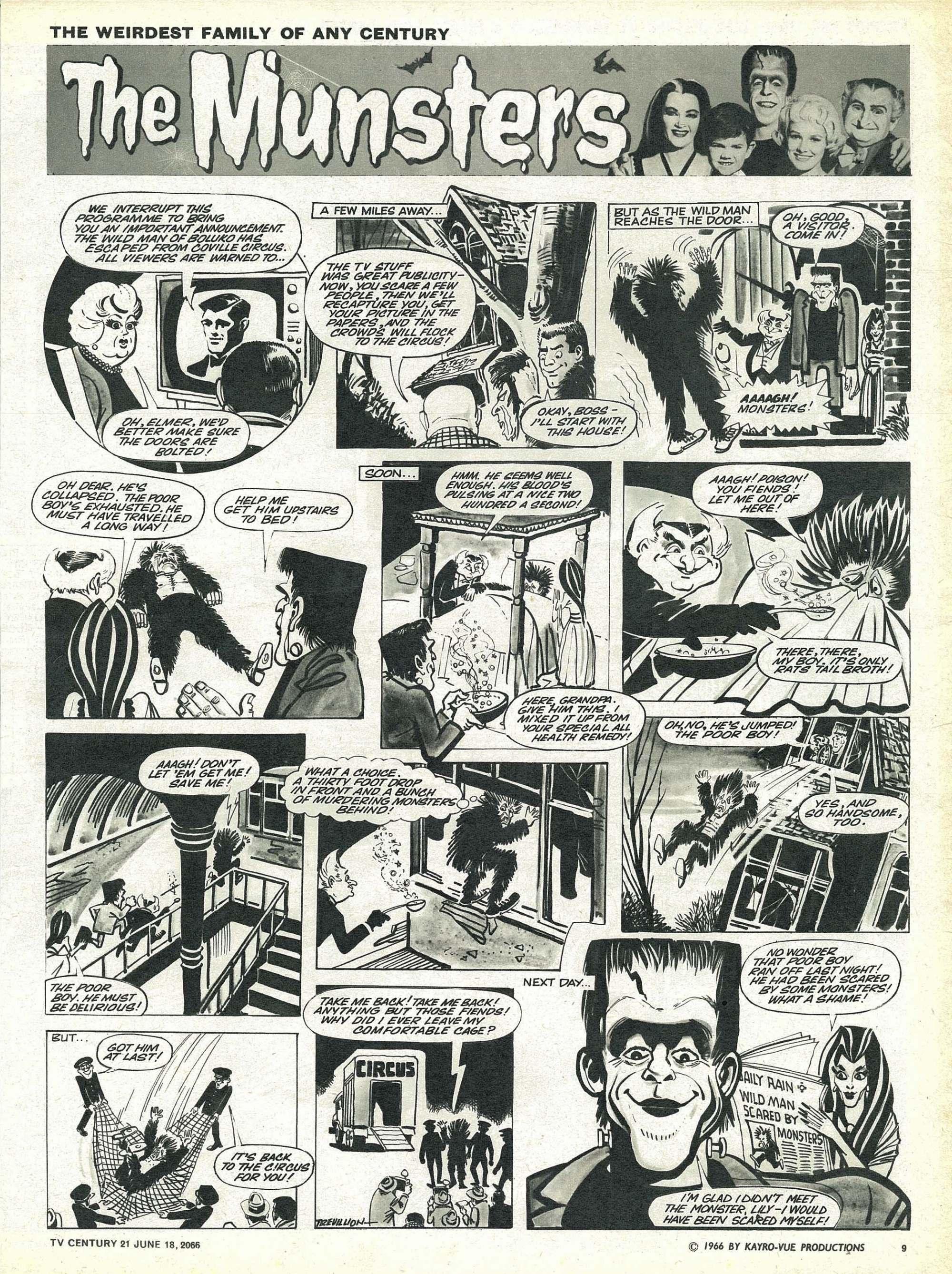 Read online TV Century 21 (TV 21) comic -  Issue #74 - 9