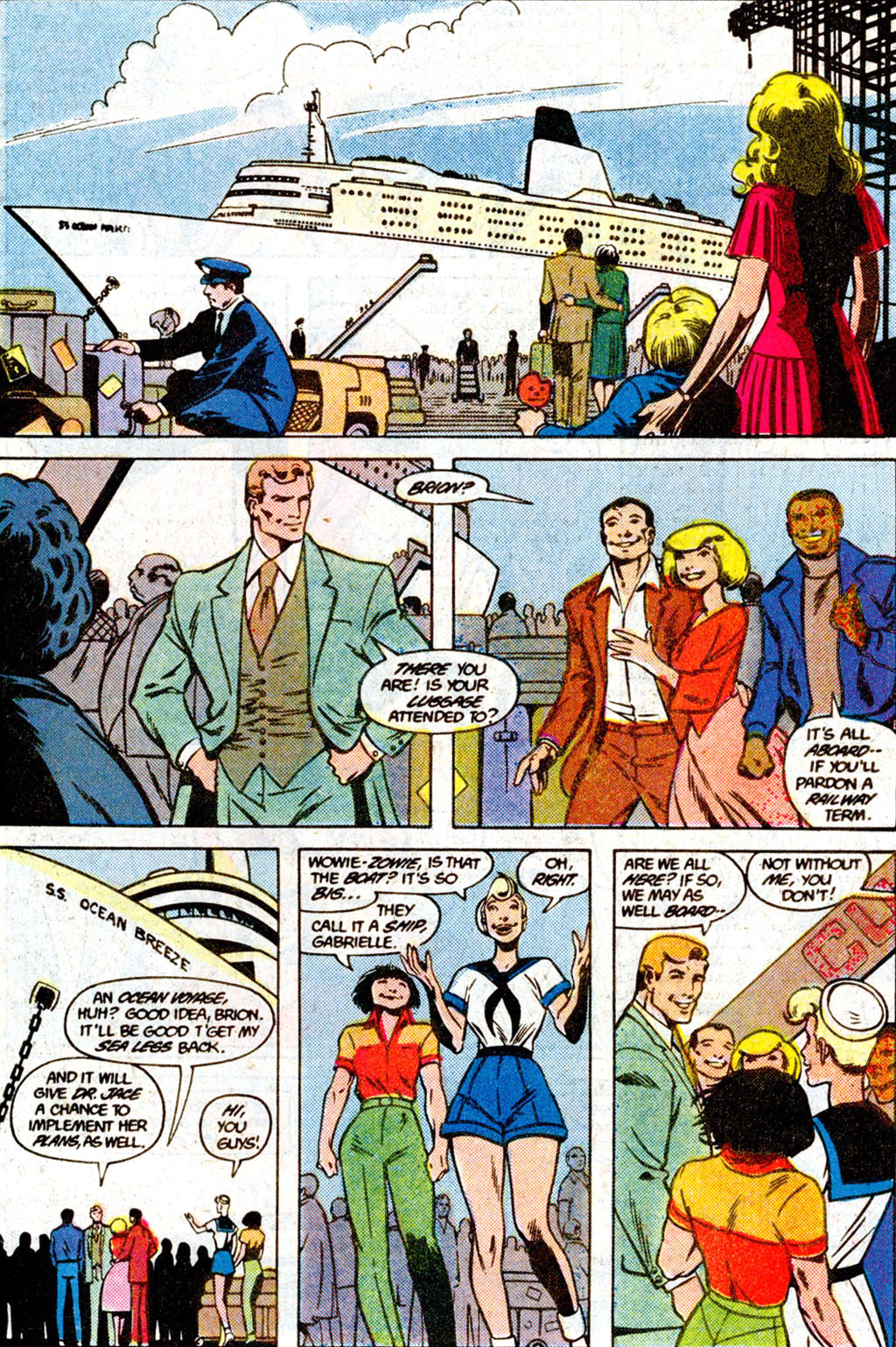 Read online Adventures of the Outsiders comic -  Issue #36 - 23