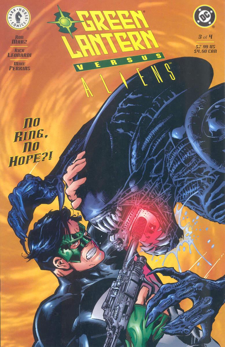 Green Lantern vs. Aliens 3 Page 1