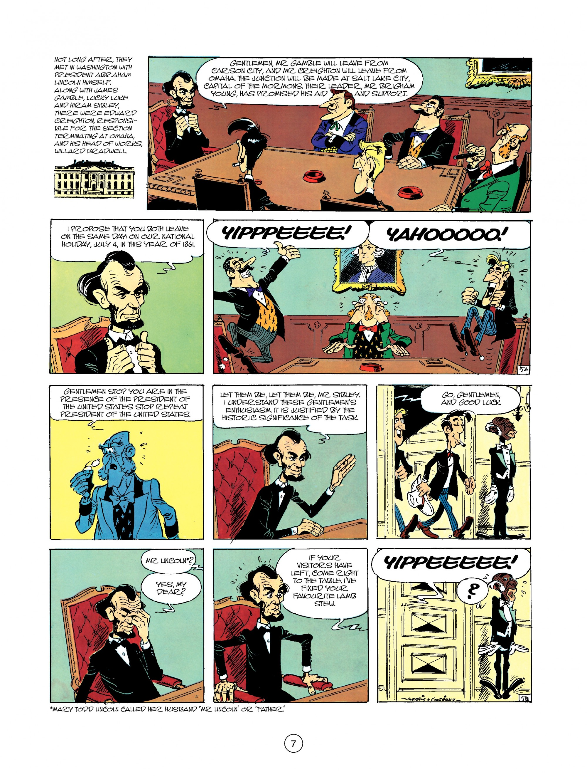 Read online A Lucky Luke Adventure comic -  Issue #35 - 7