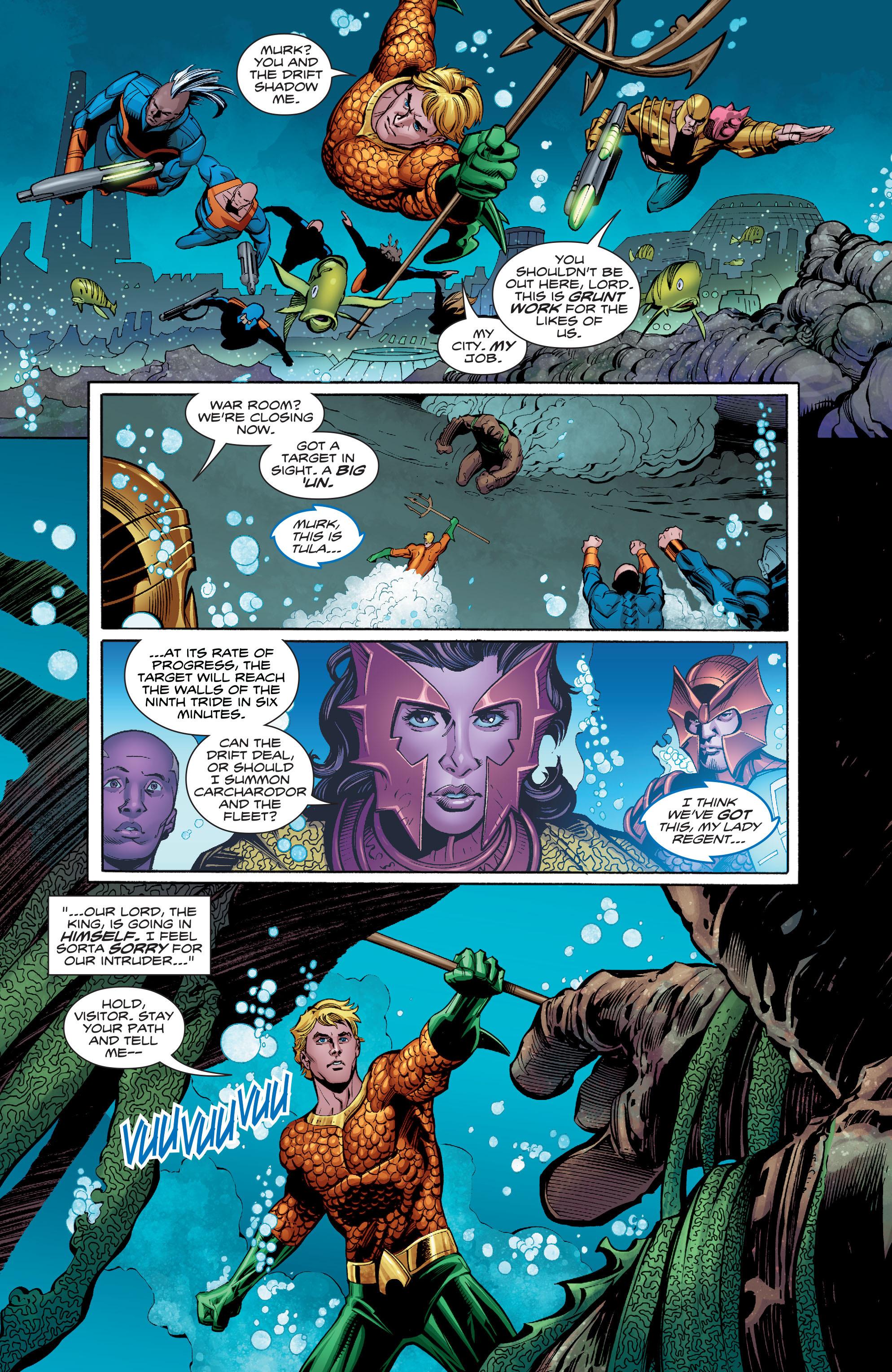 Read online Aquaman (2016) comic -  Issue #8 - 8