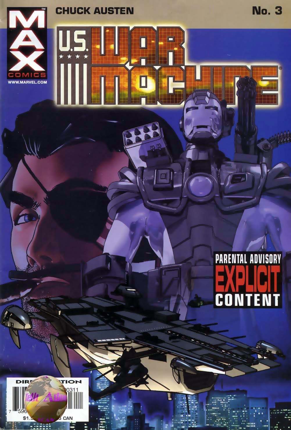 Read online U.S. War Machine comic -  Issue #3 - 1