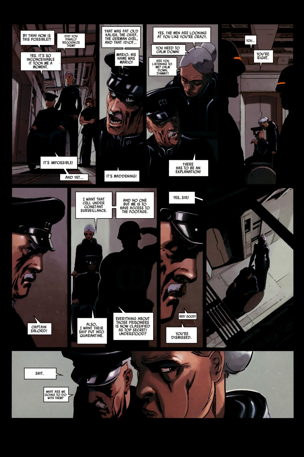 Read online Universal War One: Revelations comic -  Issue #2 - 23