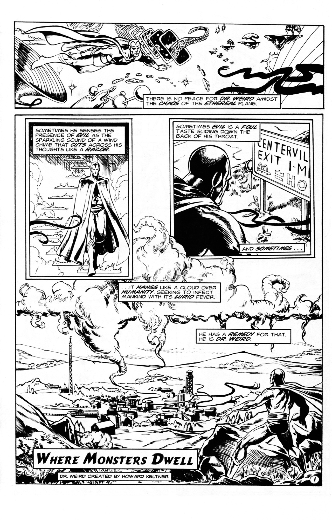 Read online Dr. Weird (1994) comic -  Issue #1 - 3