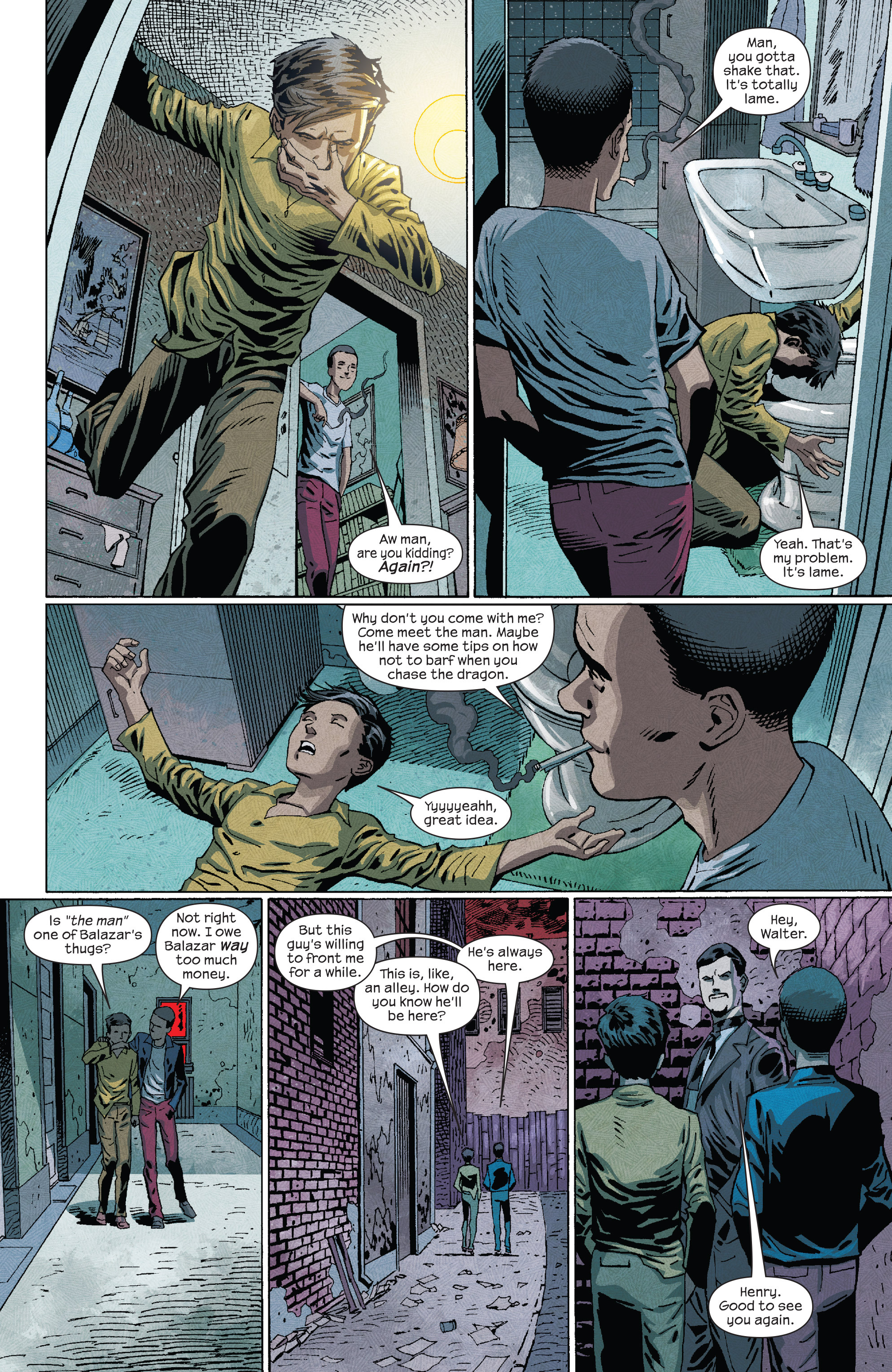 Read online Dark Tower: The Drawing of the Three - The Prisoner comic -  Issue #4 - 8