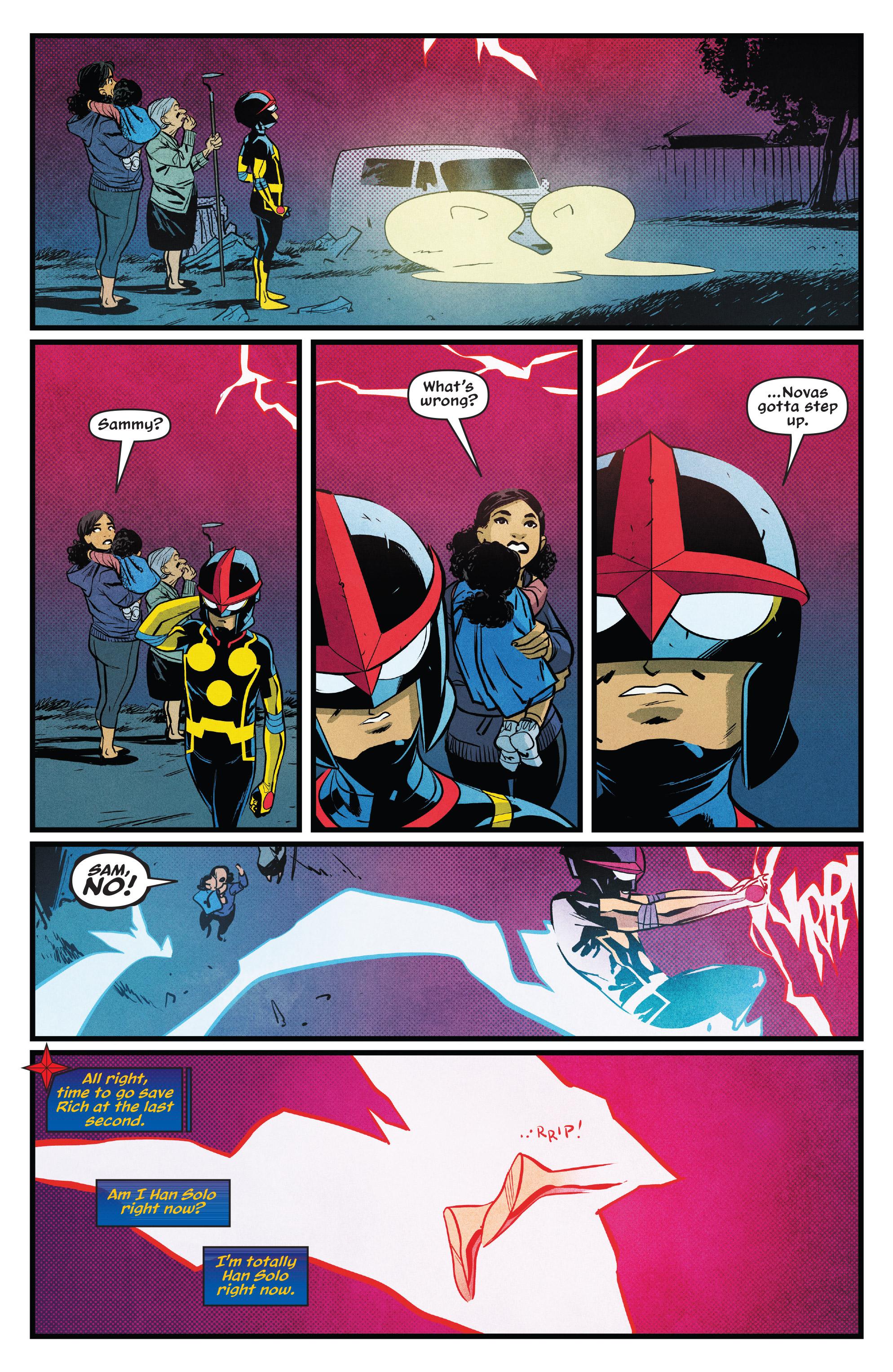 Read online Nova (2017) comic -  Issue #7 - 3