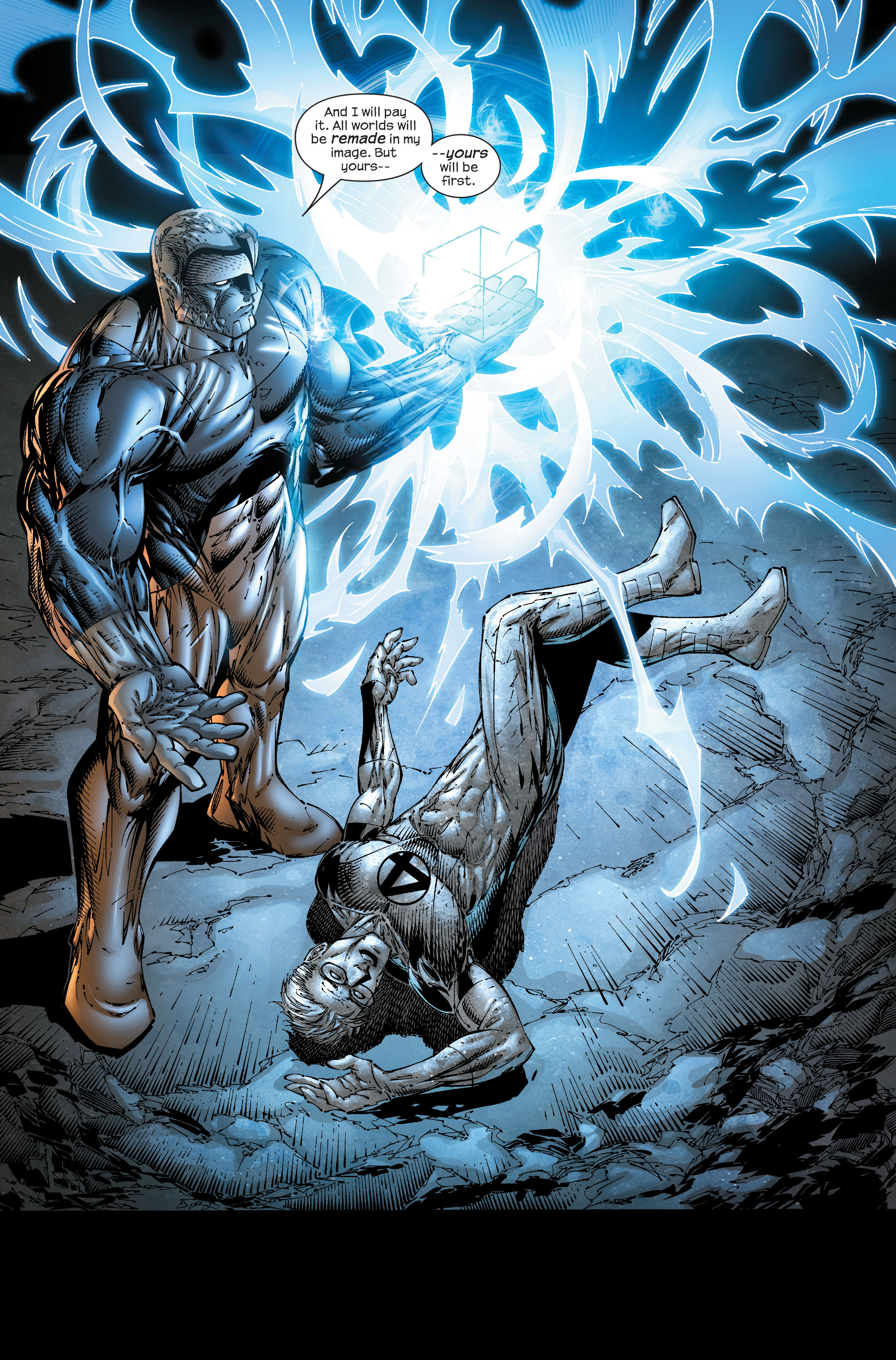 Read online Ultimate Fantastic Four (2004) comic -  Issue #51 - 23