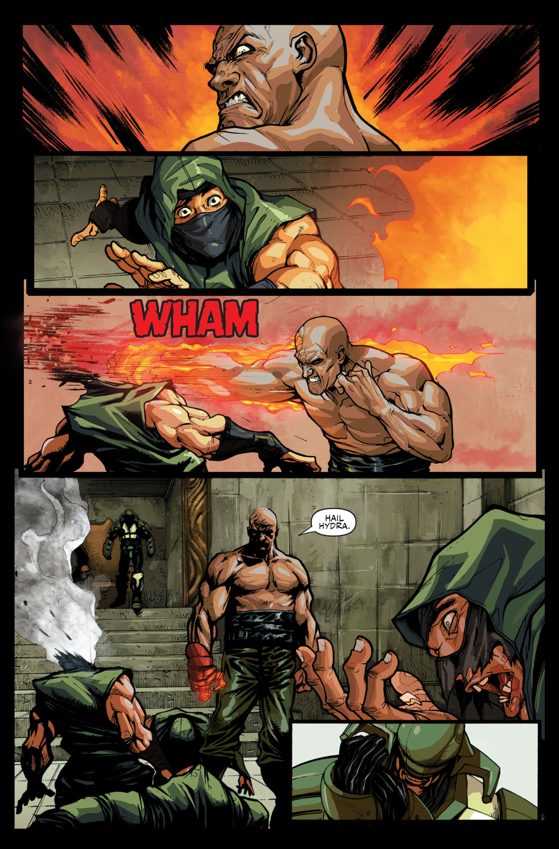 Read online Secret Warriors comic -  Issue #13 - 13