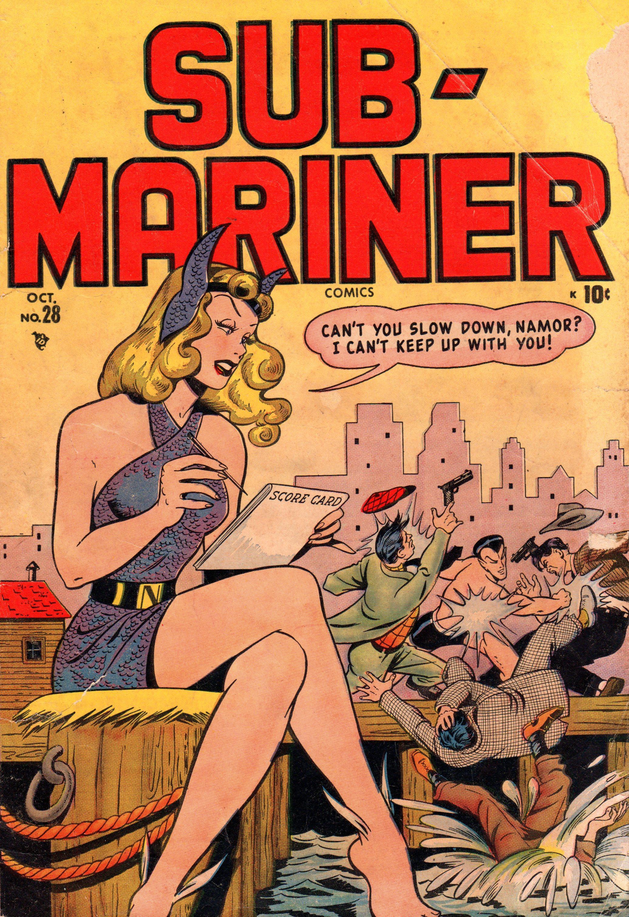 Sub-Mariner Comics 28 Page 1