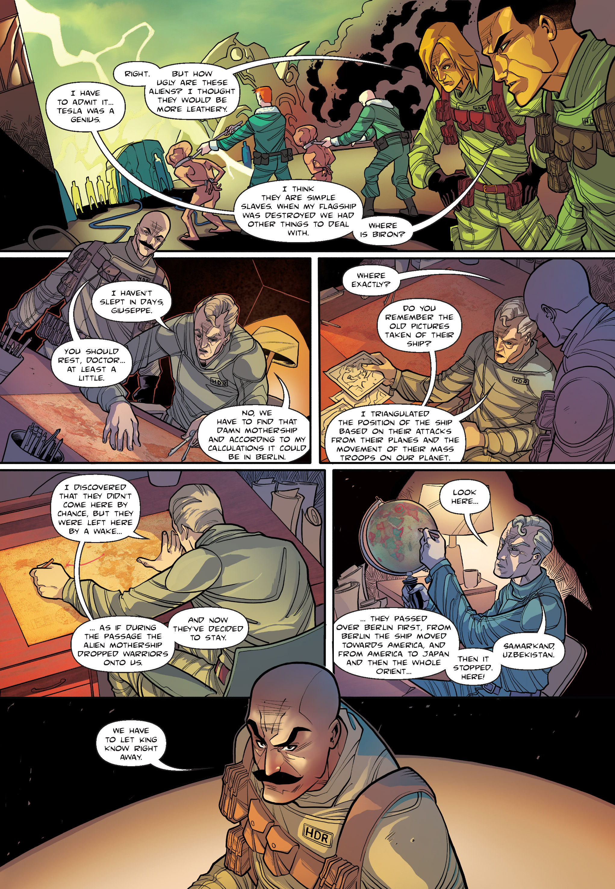 Read online The Shadow of a Terrible Thing comic -  Issue # TPB - 77