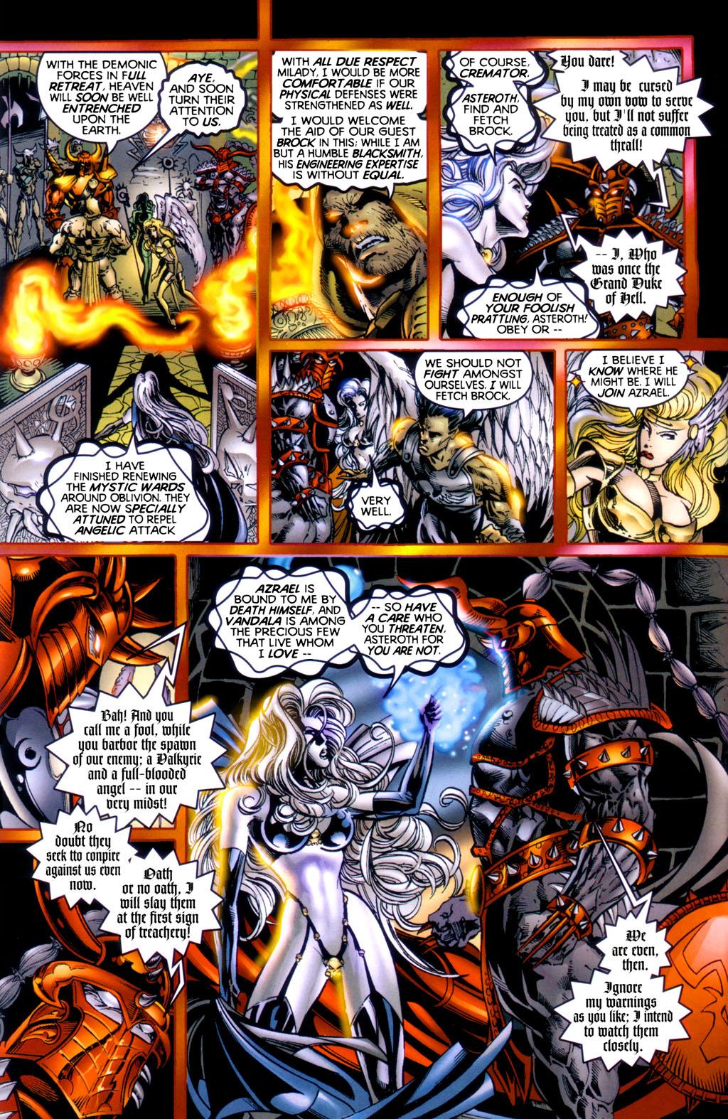 Read online Lady Death vs. Purgatori comic -  Issue # Full - 4