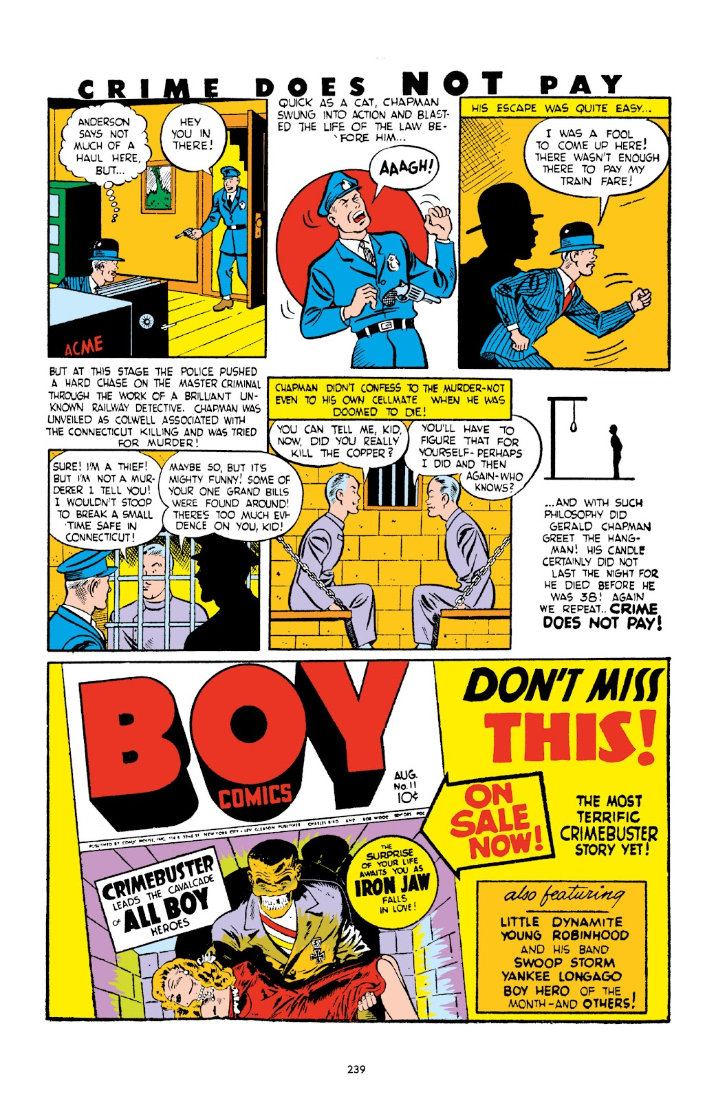 Read online Crime Does Not Pay Archives comic -  Issue # TPB 2 (Part 3) - 39