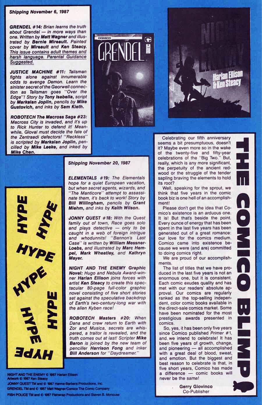 Elementals (1984) issue 18 - Page 29