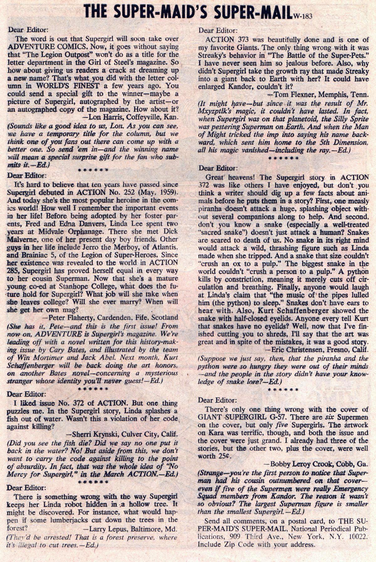 Read online Adventure Comics (1938) comic -  Issue #381 - 32