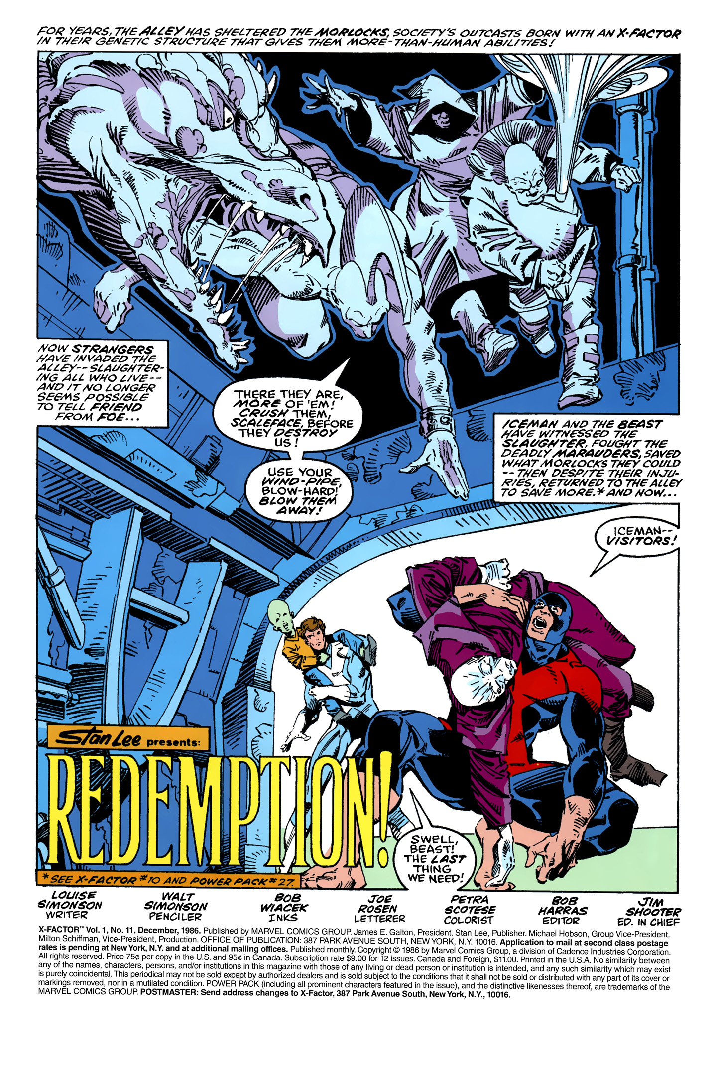 Read online X-Factor (1986) comic -  Issue #11 - 2