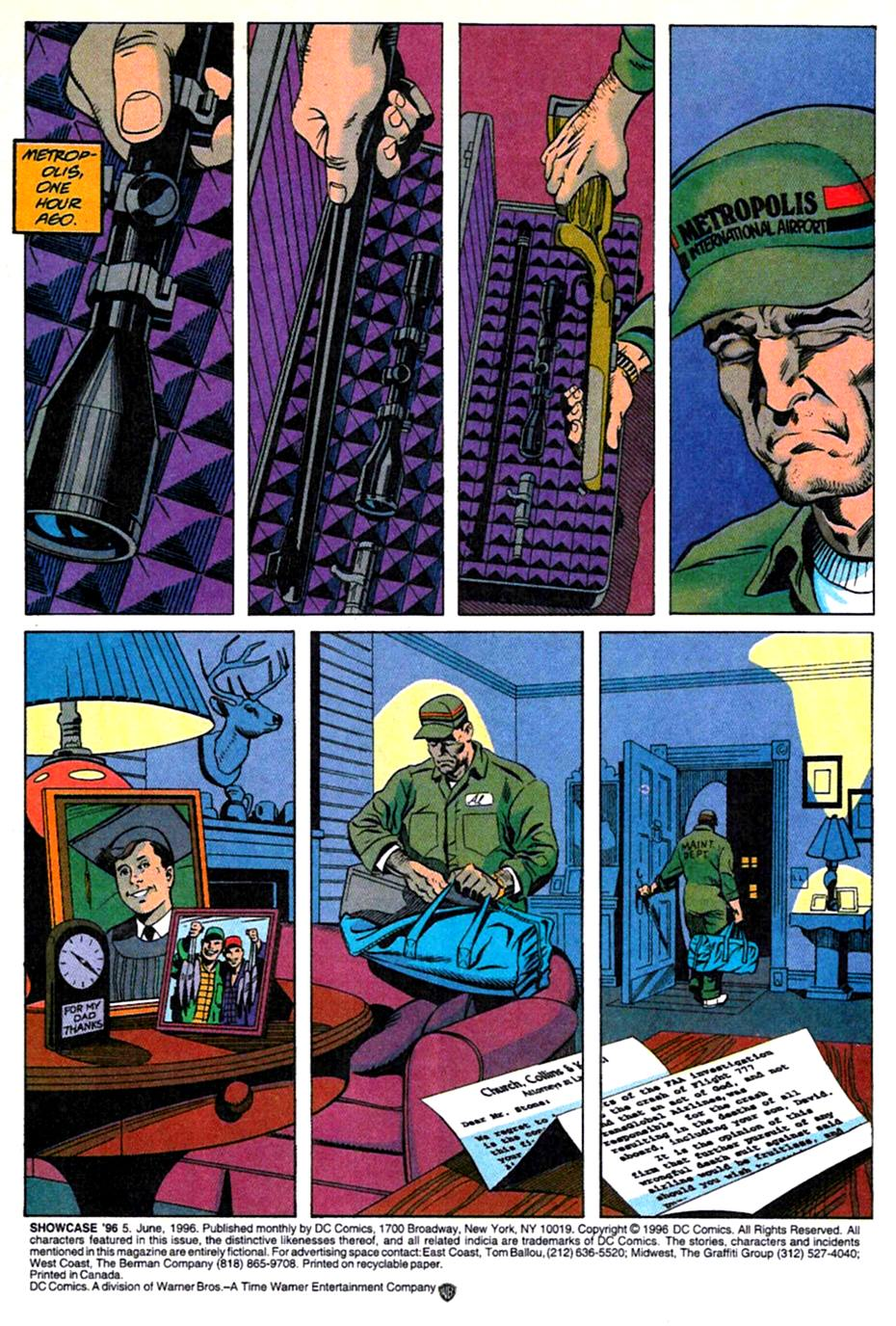 Read online Showcase '96 comic -  Issue #5 - 2