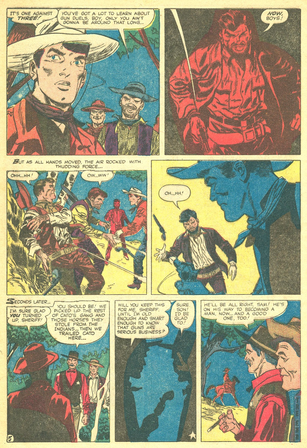 Gunsmoke Western issue 41 - Page 32