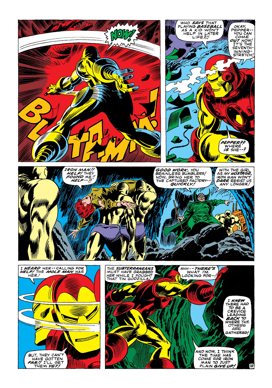 Read online Marvel Masterworks: The Invincible Iron Man comic -  Issue # TPB 4 (Part 1) - 68