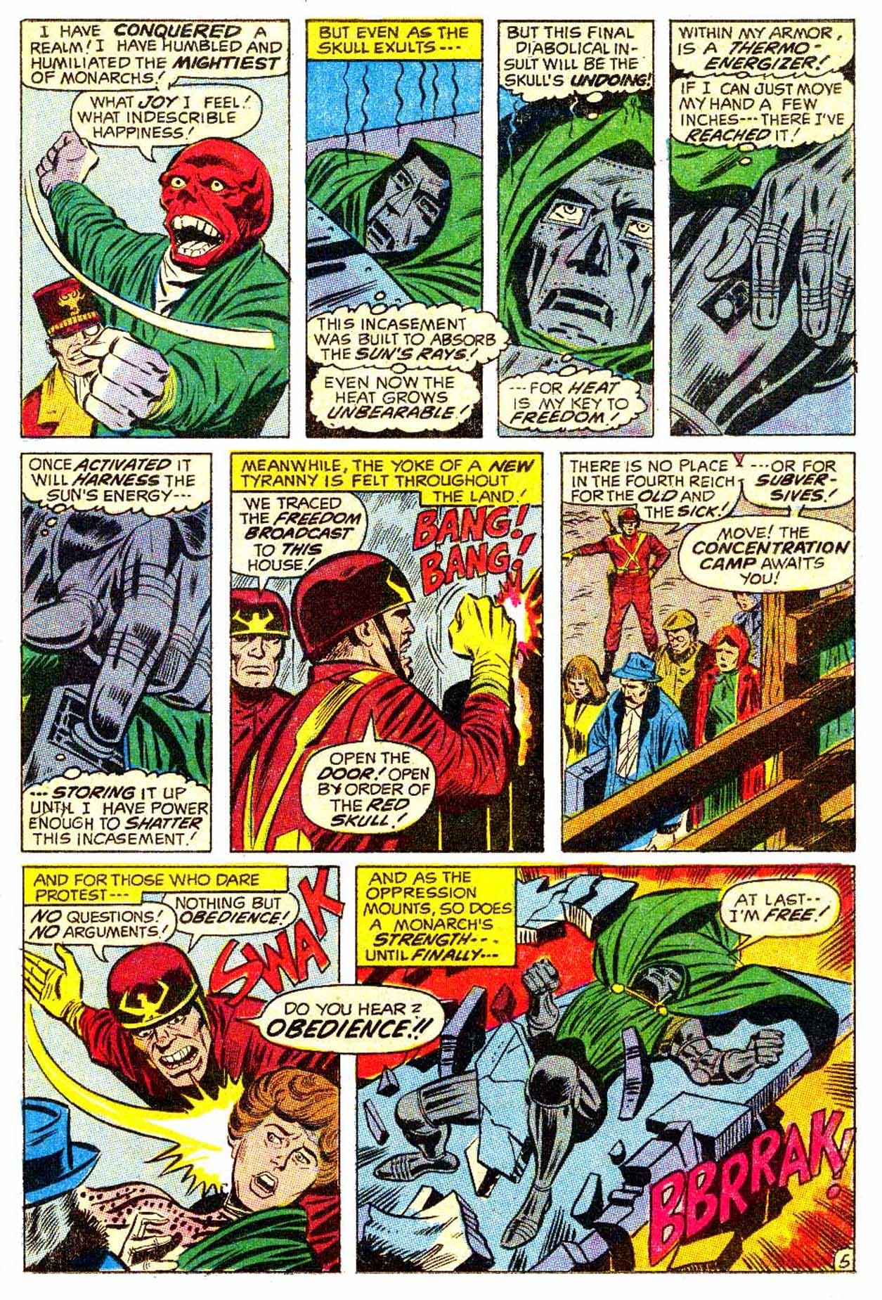 Read online Astonishing Tales (1970) comic -  Issue #5 - 6
