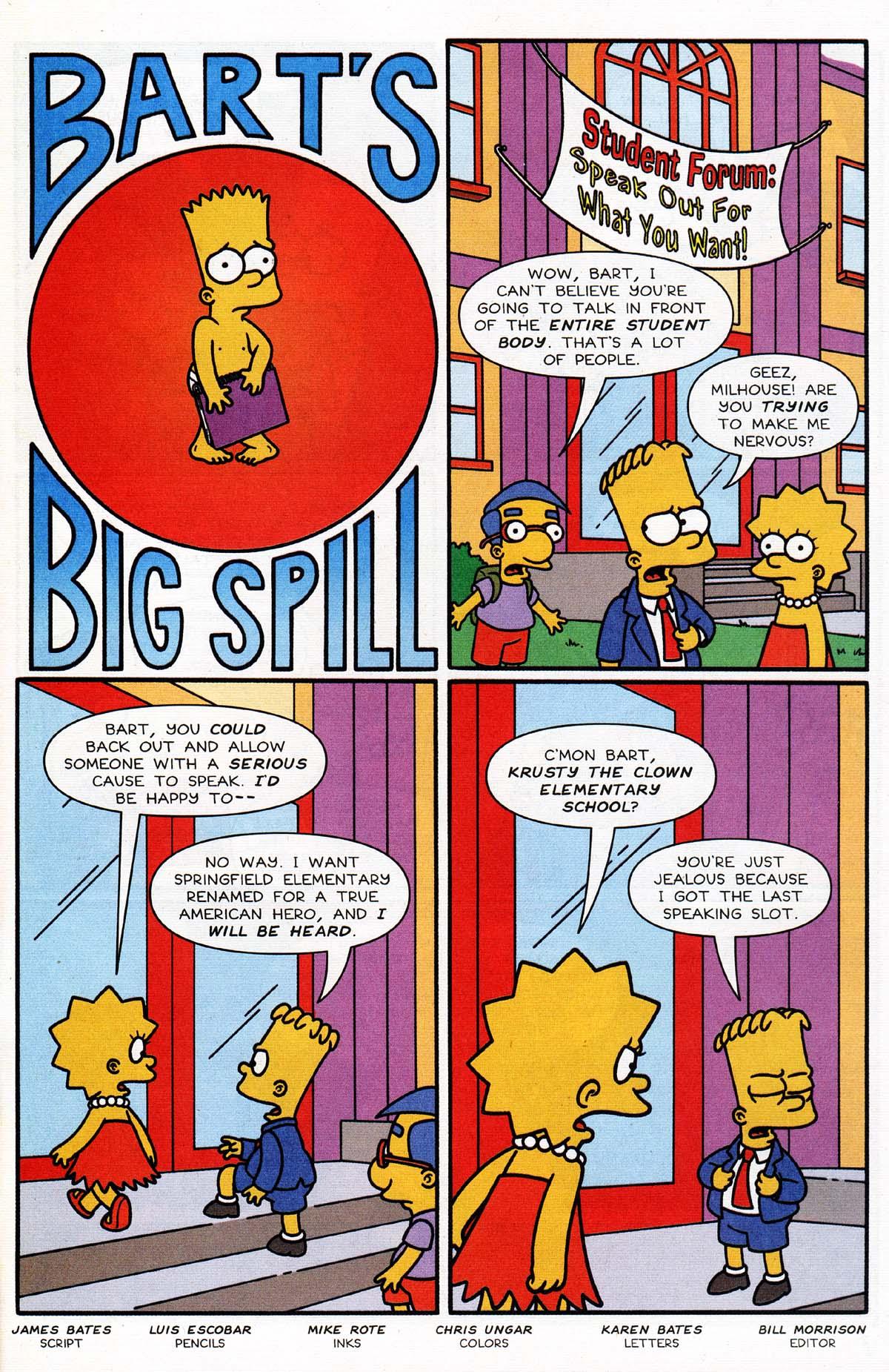 Read online Simpsons Comics Presents Bart Simpson comic -  Issue #13 - 25
