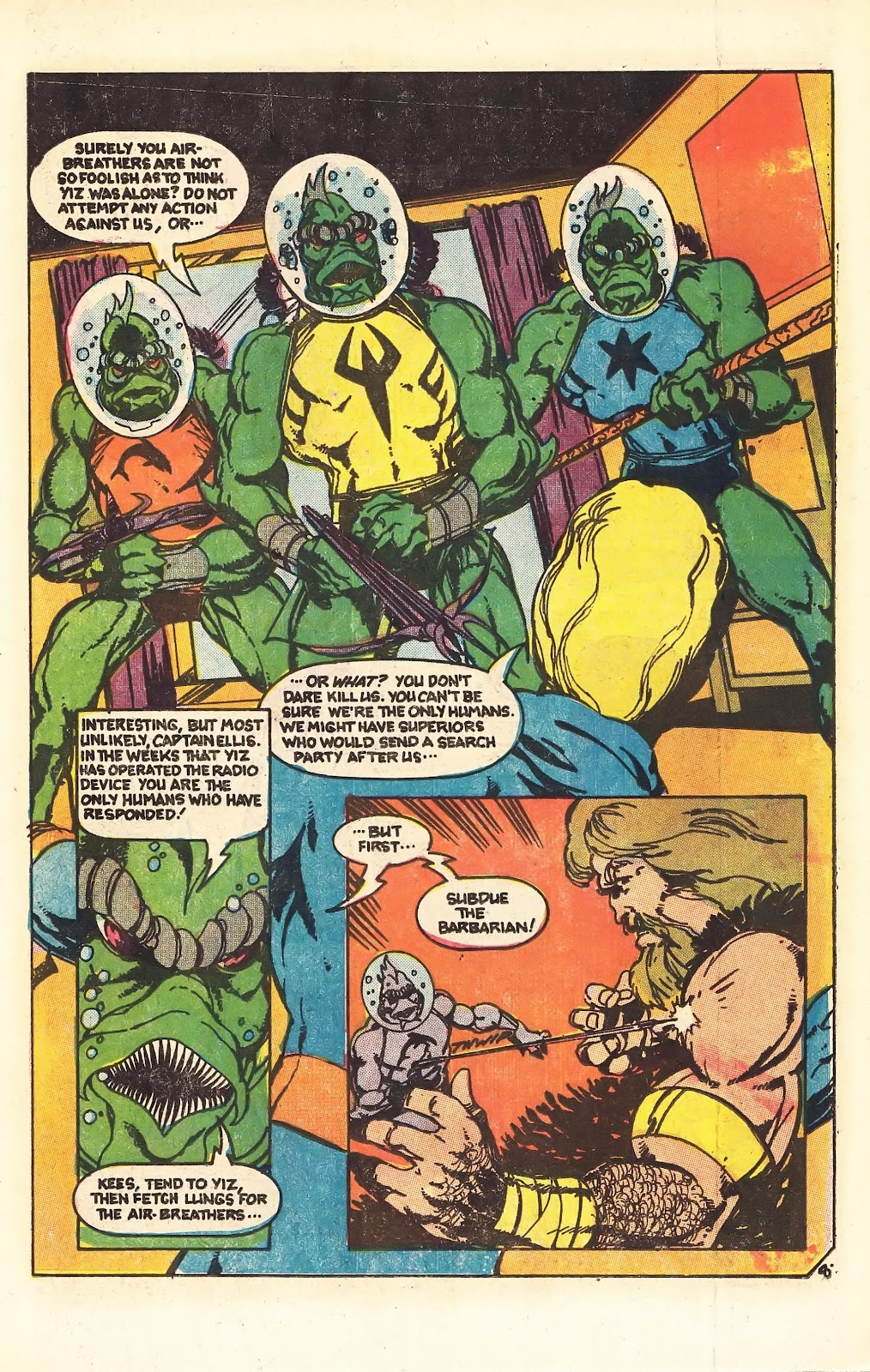 Read online Doomsday   1 (1975) comic -  Issue #4 - 11