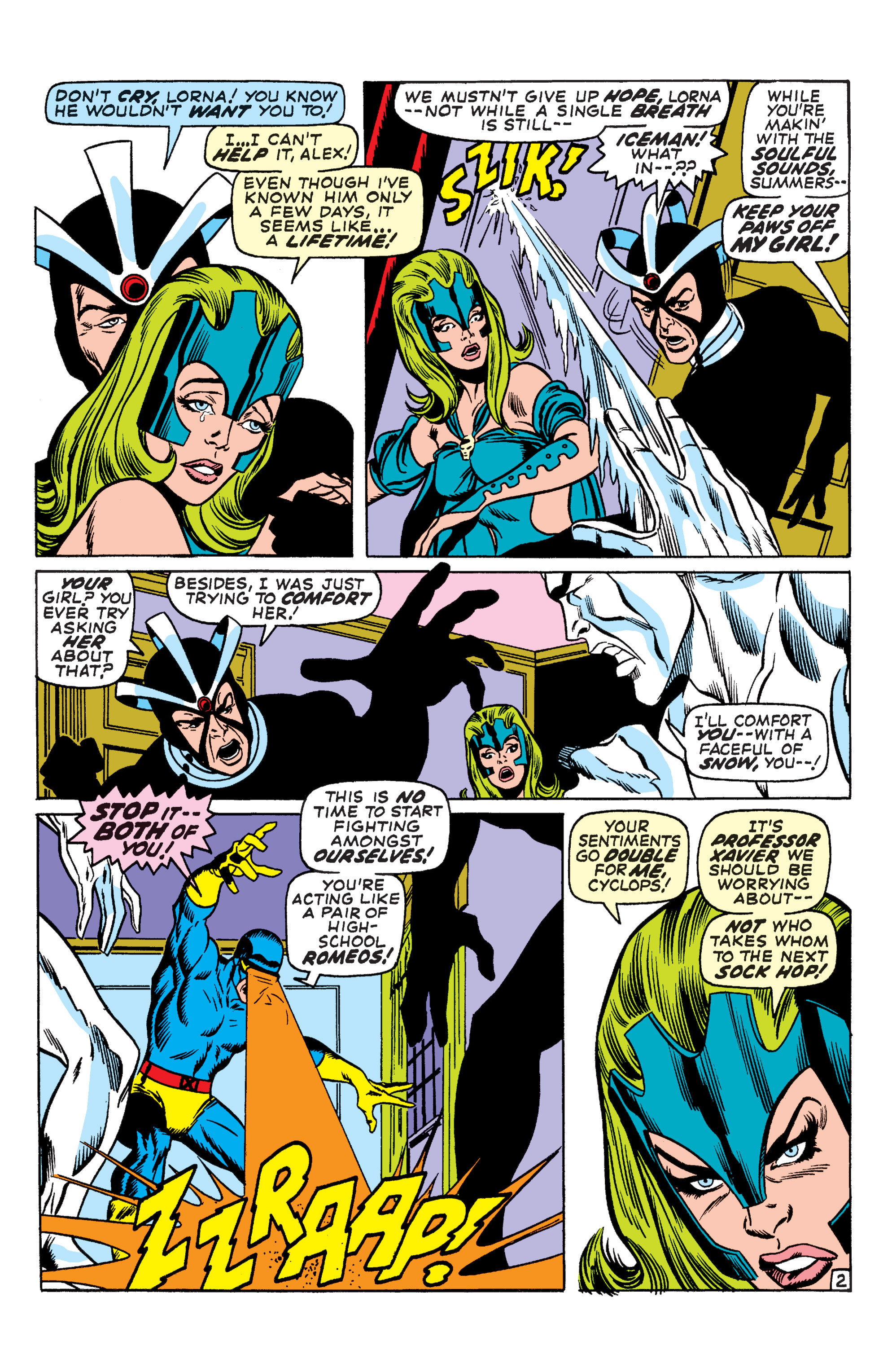 Uncanny X-Men (1963) 66 Page 2