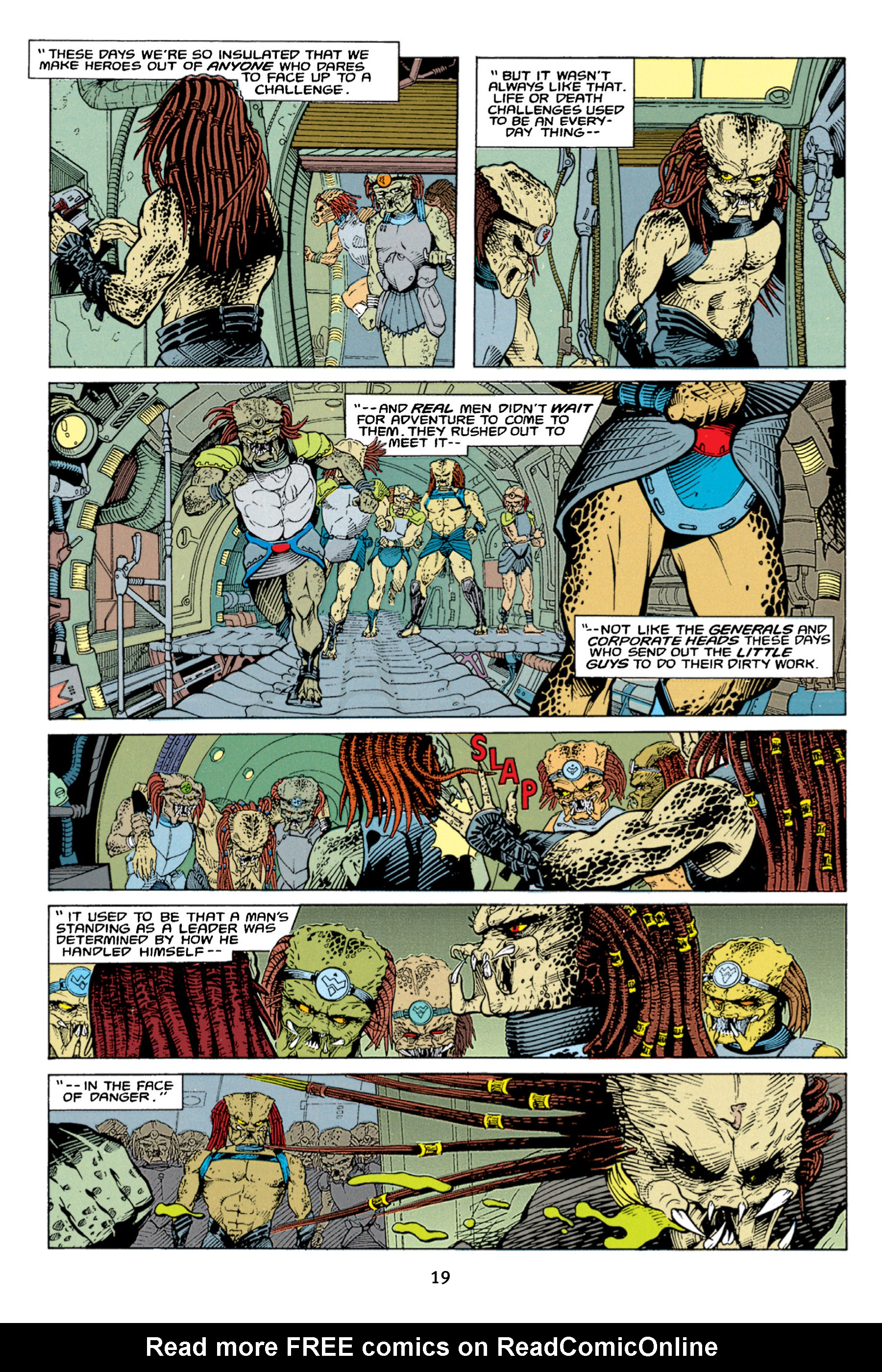 Read online Aliens vs. Predator Omnibus comic -  Issue # _TPB 1 Part 1 - 19