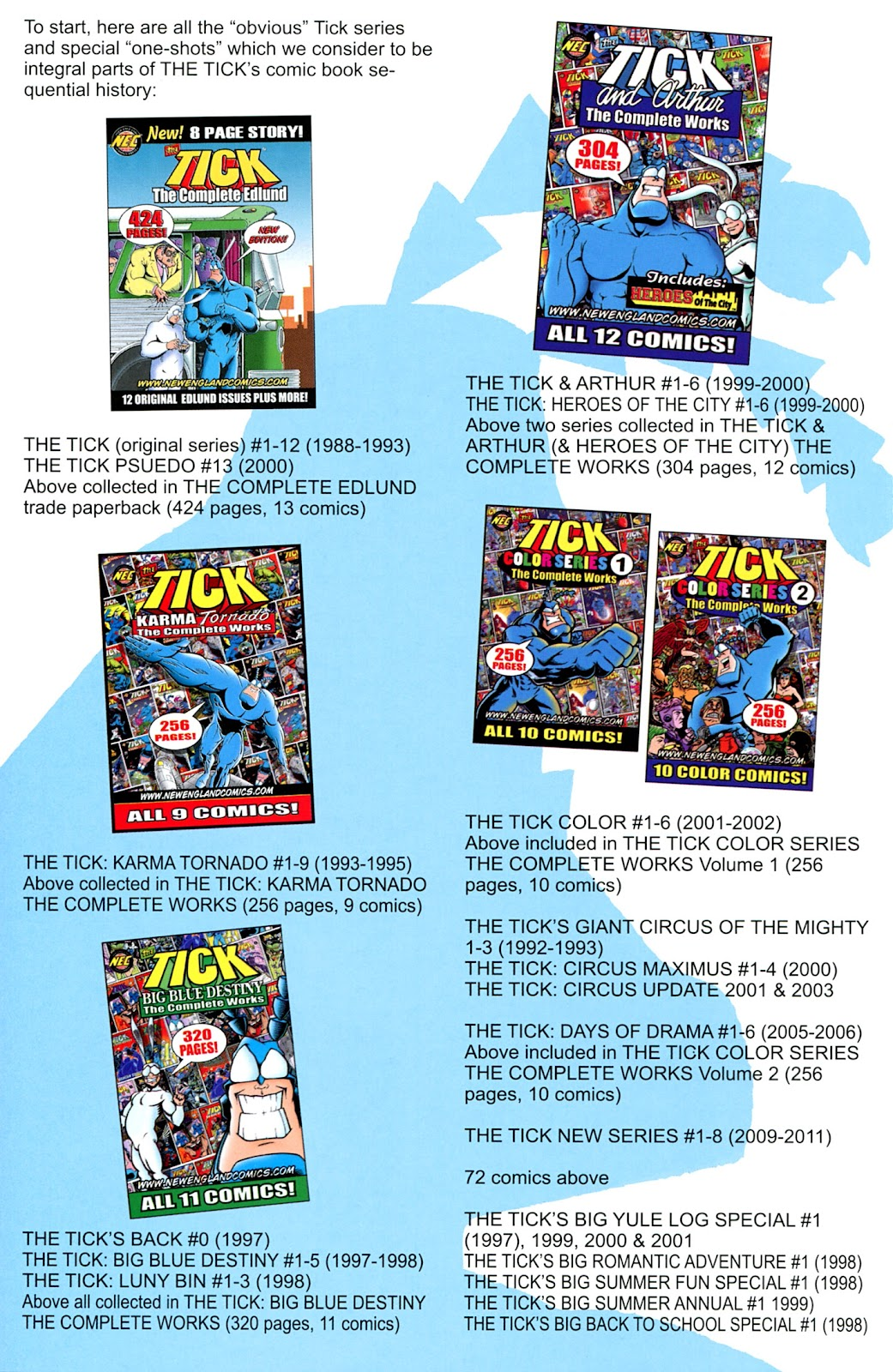 Read online The Tick comic -  Issue #100 - 28