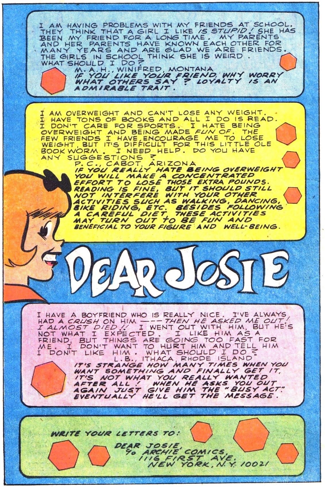 Read online She's Josie comic -  Issue #103 - 10
