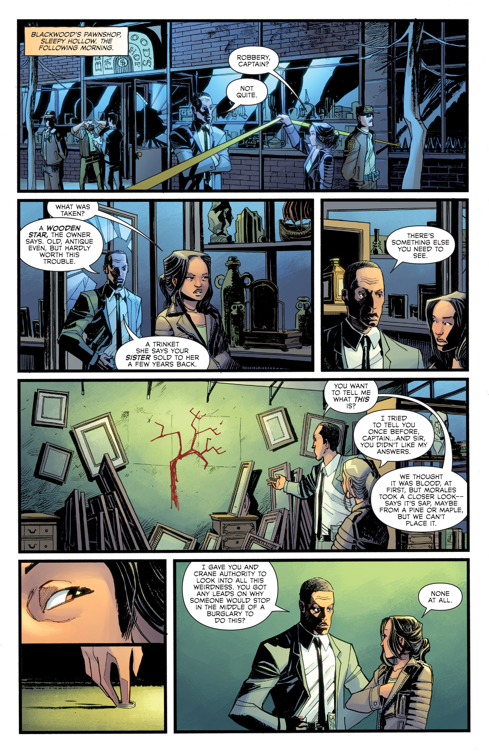 Read online Sleepy Hollow (2014) comic -  Issue #2 - 8