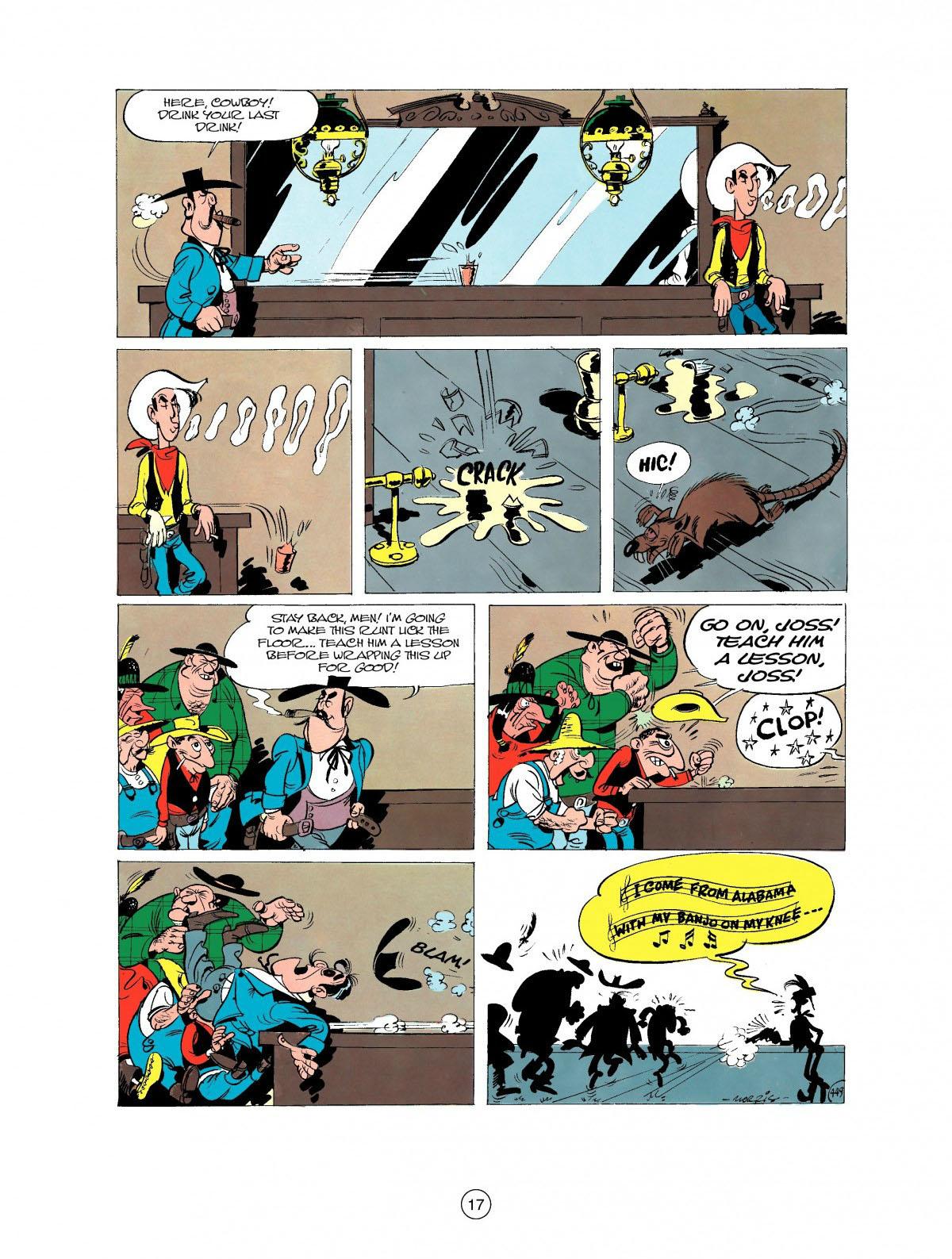 Read online A Lucky Luke Adventure comic -  Issue #27 - 18