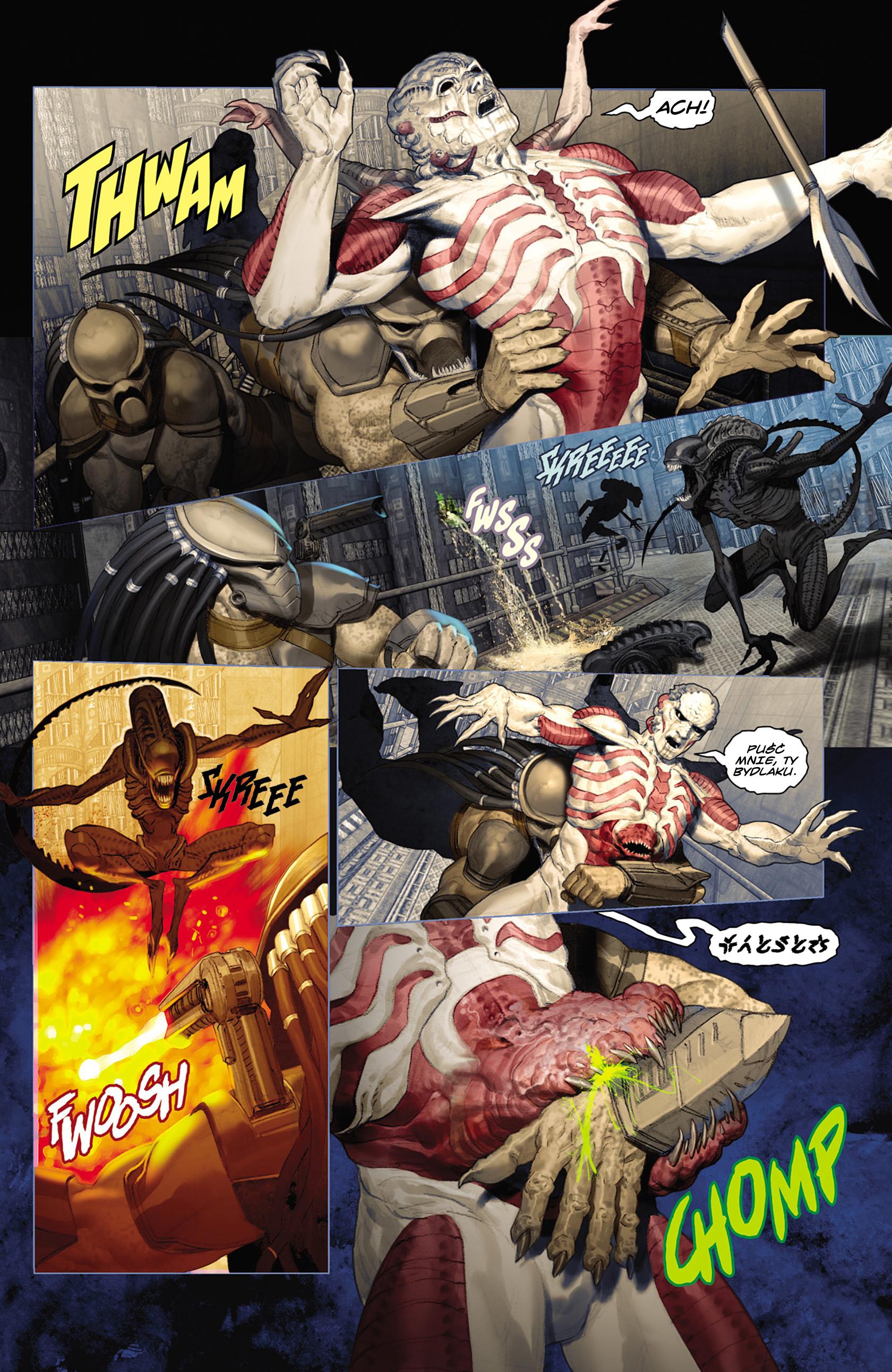 Read online Alien vs. Predator: Fire and Stone comic -  Issue #2 - 6