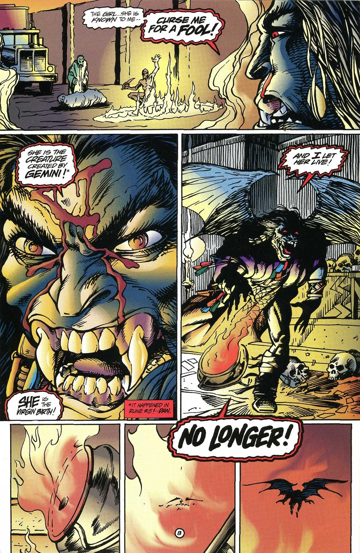 Read online Rune (1994) comic -  Issue #8 - 9