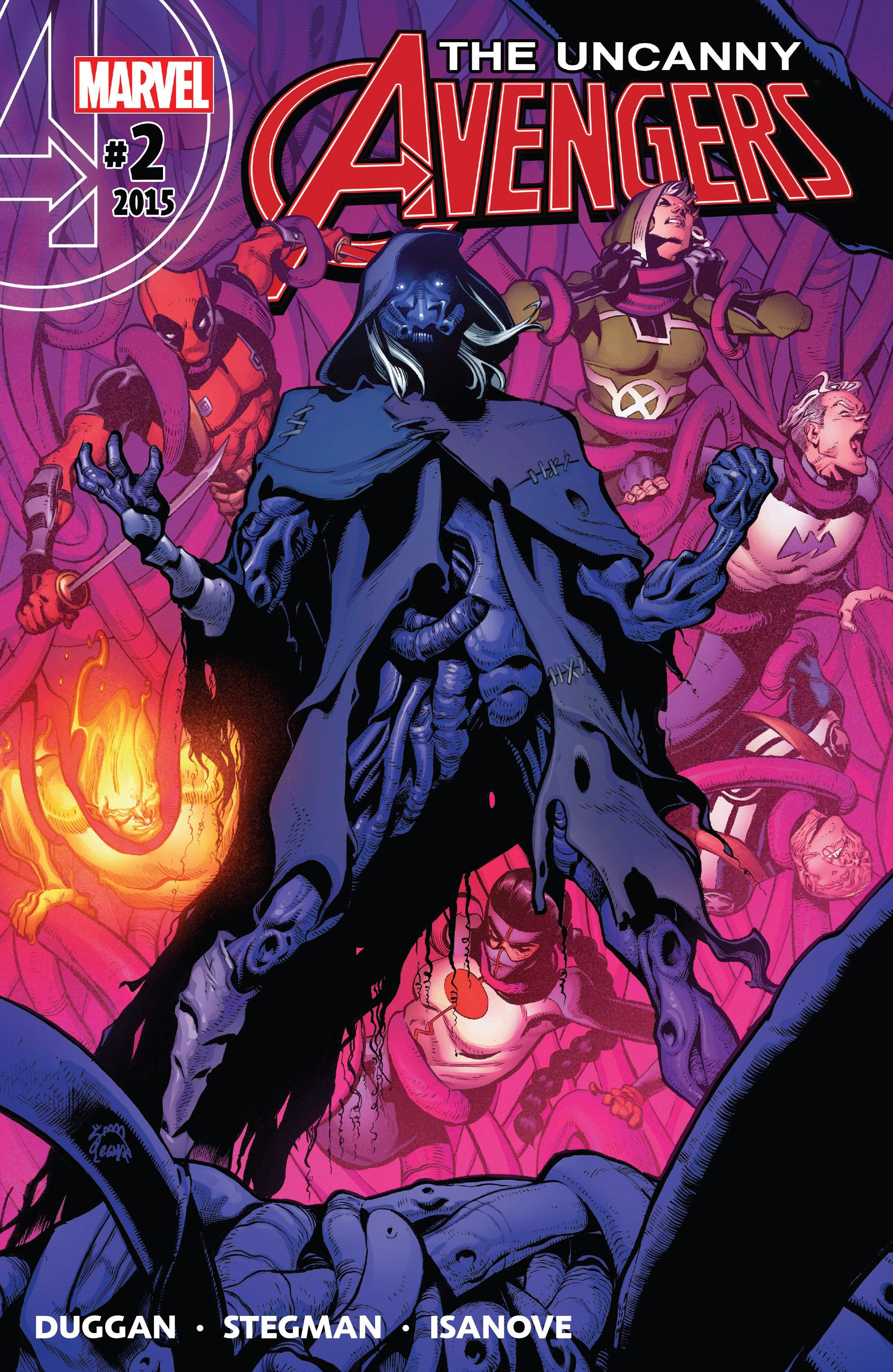 Read online Uncanny Avengers [II] comic -  Issue #2 - 1