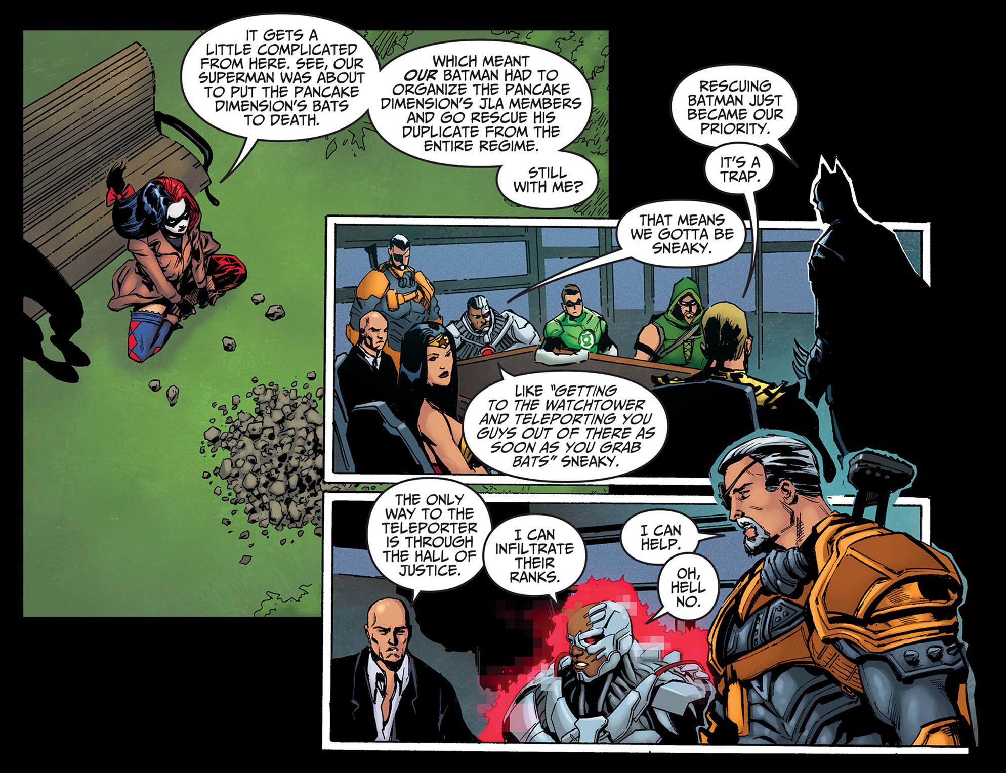 Read online Injustice: Ground Zero comic -  Issue #14 - 4