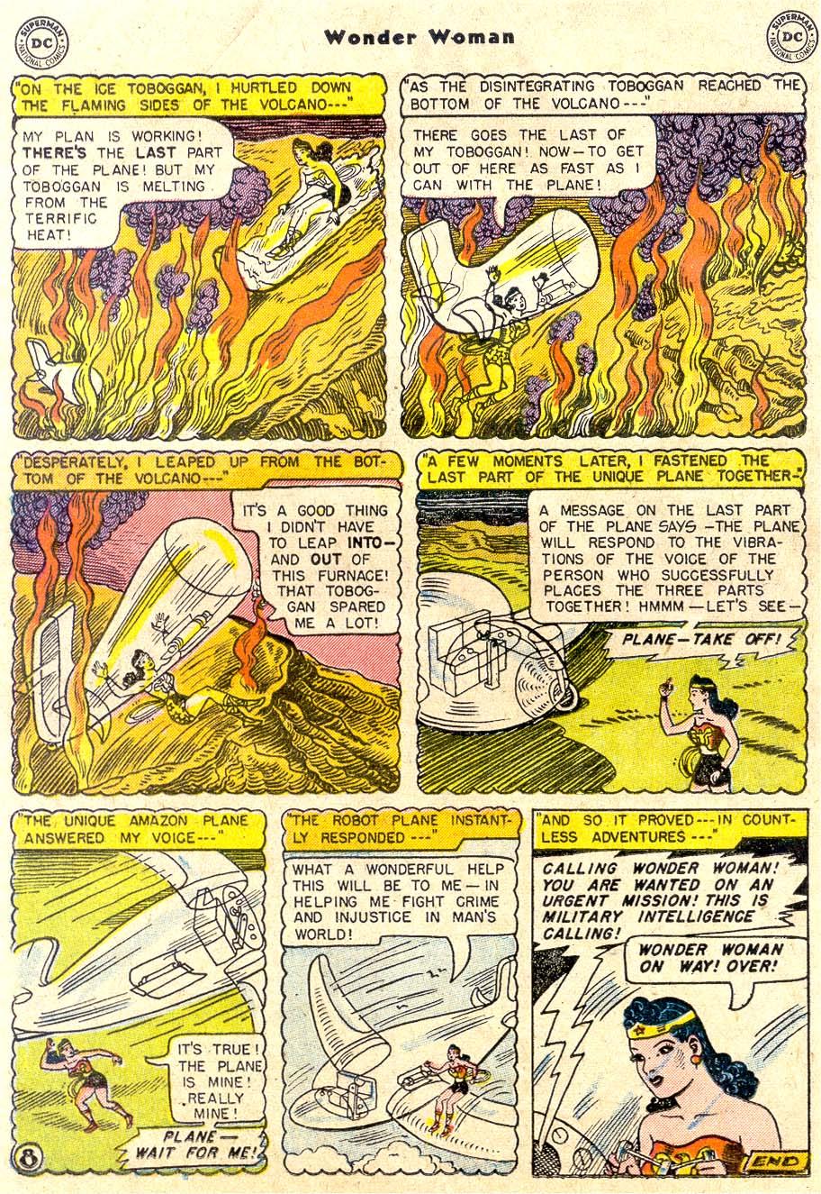 Read online Wonder Woman (1942) comic -  Issue #80 - 20
