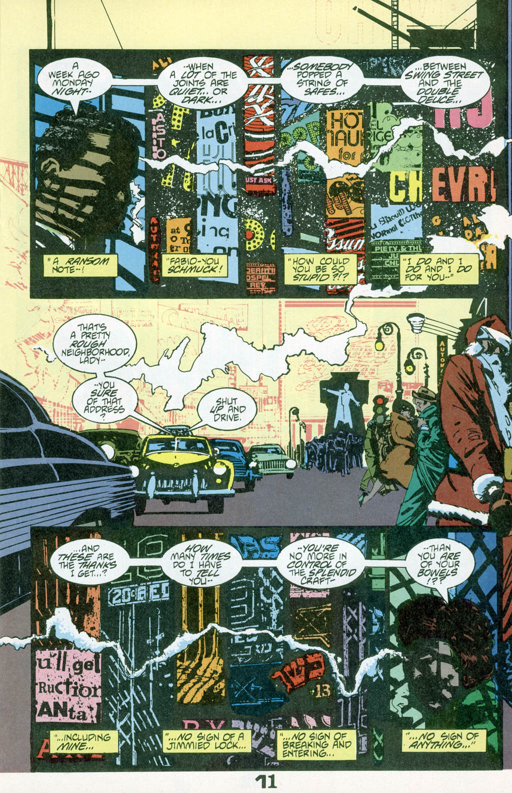Read online American Flagg! comic -  Issue # _Special 1 - 13