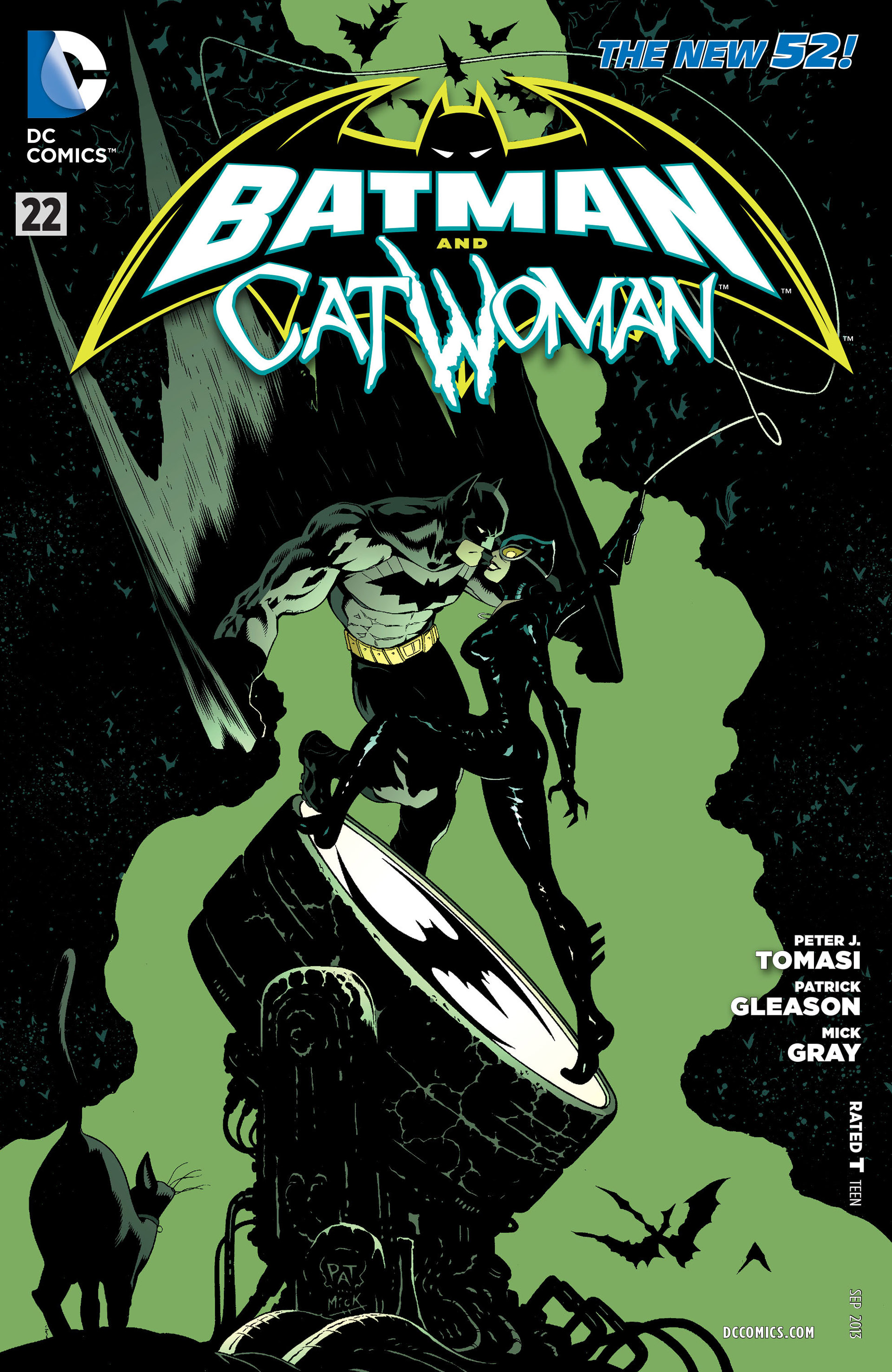 Read online Batman and Robin (2011) comic -  Issue #22 - Batman and Catwoman - 1