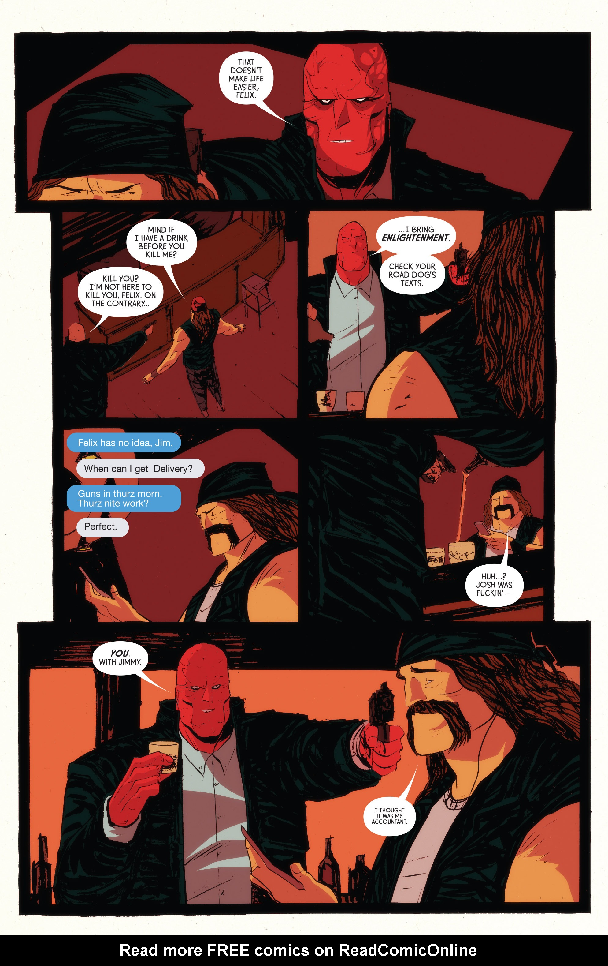 Read online American Monster comic -  Issue #5 - 21