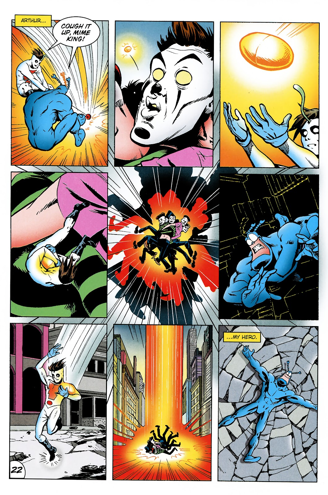 Read online The Tick comic -  Issue #101 - 24