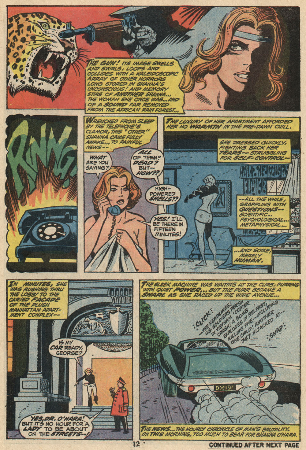 Read online Shanna, the She-Devil (1972) comic -  Issue #1 - 10
