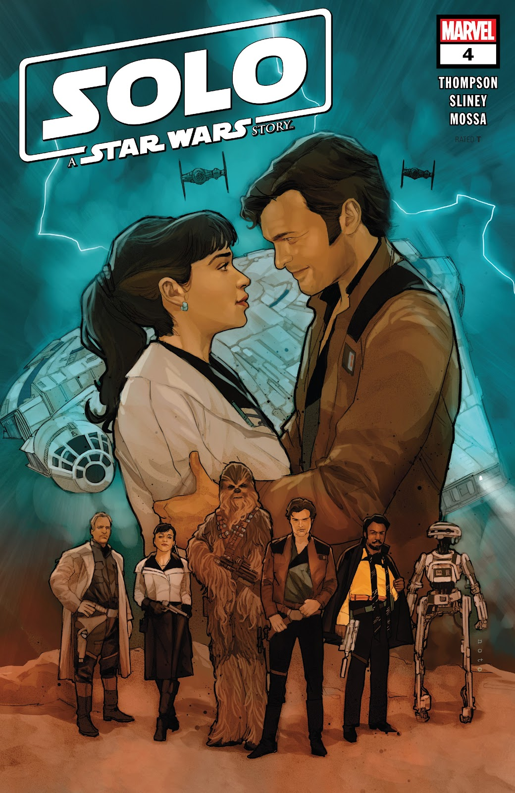 Read online Solo: A Star Wars Story Adaptation comic -  Issue #4 - 1