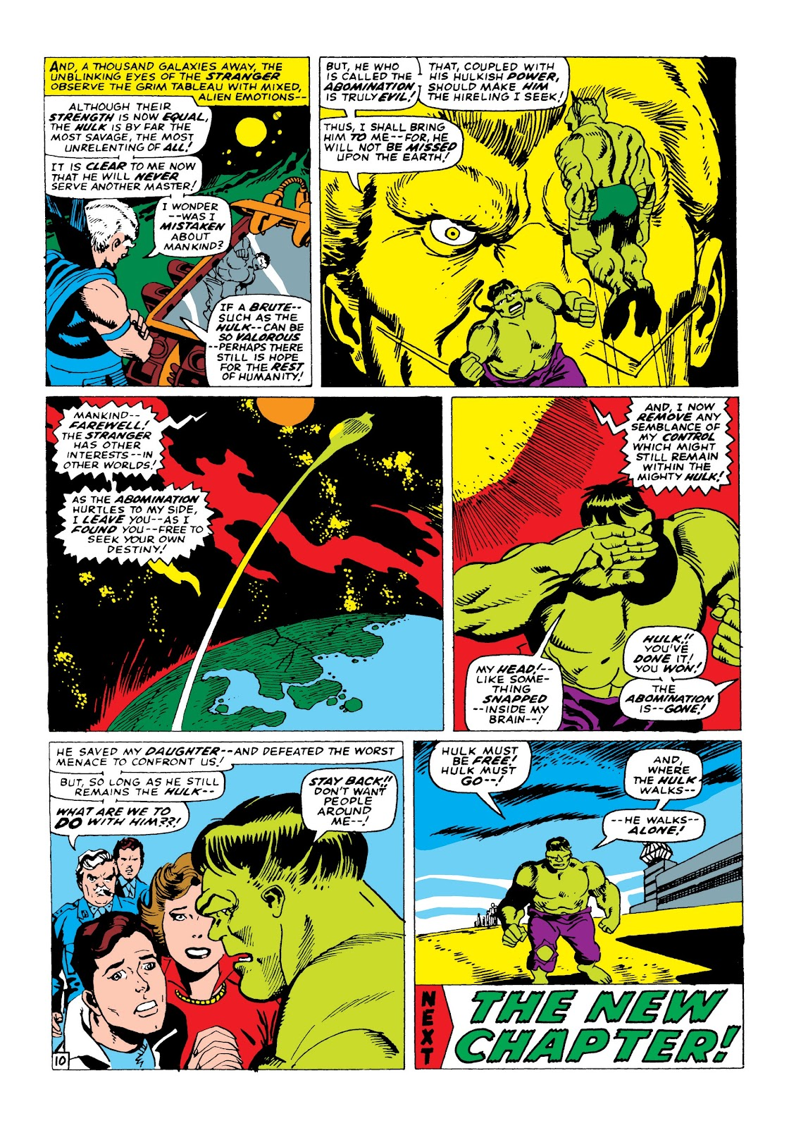Read online Marvel Masterworks: The Incredible Hulk comic -  Issue # TPB 3 (Part 2) - 38