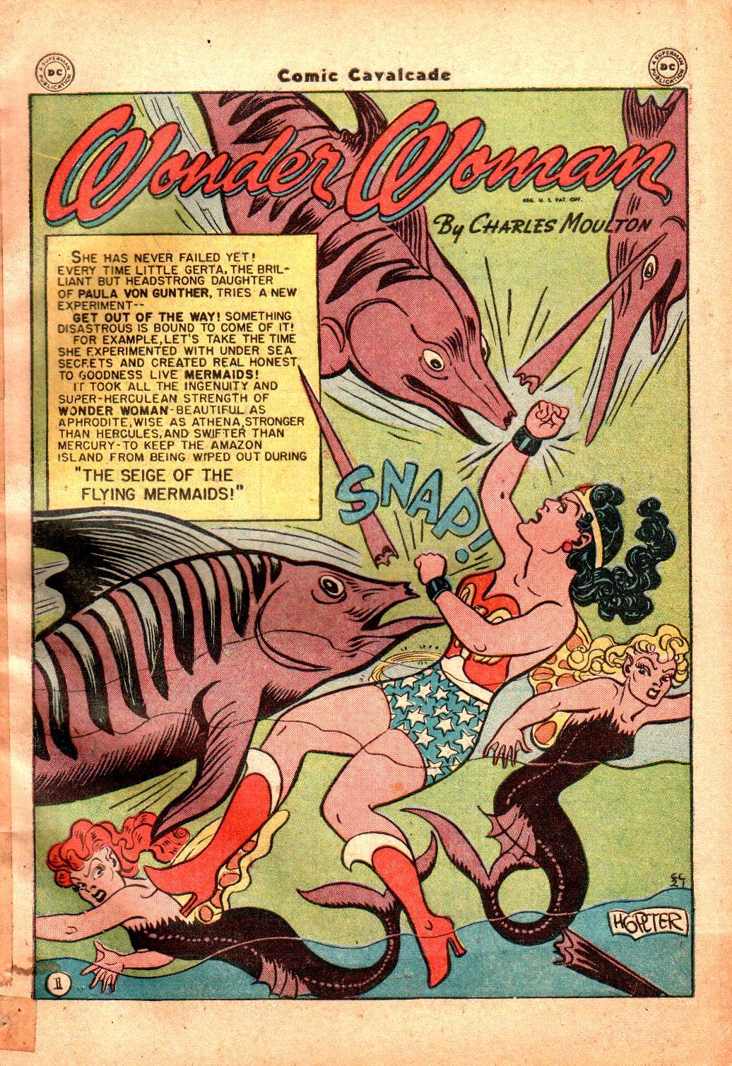 Comic Cavalcade issue 21 - Page 3