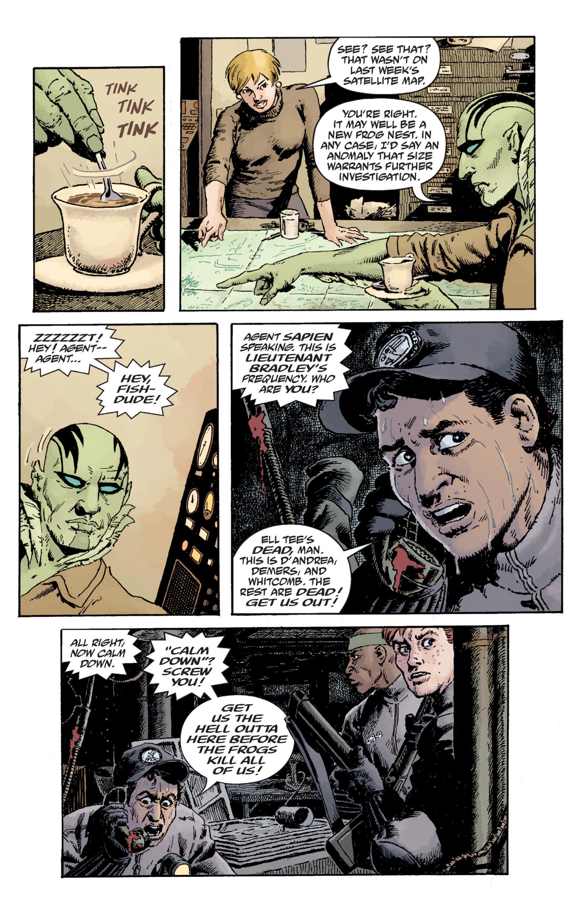 Read online B.P.R.D. (2003) comic -  Issue # TPB 12 - 73