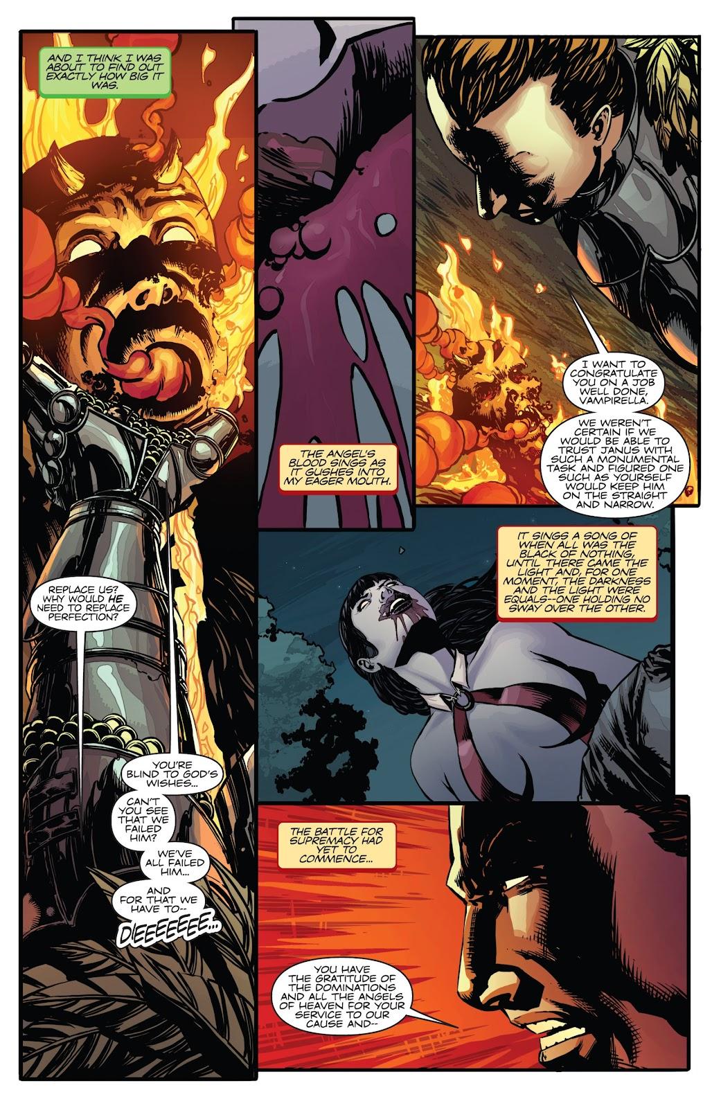 Read online Vampirella Strikes comic -  Issue #6 - 23