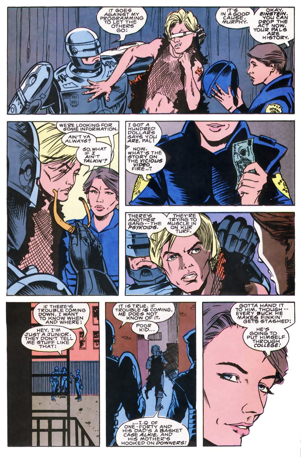 Read online Robocop (1990) comic -  Issue #8 - 7
