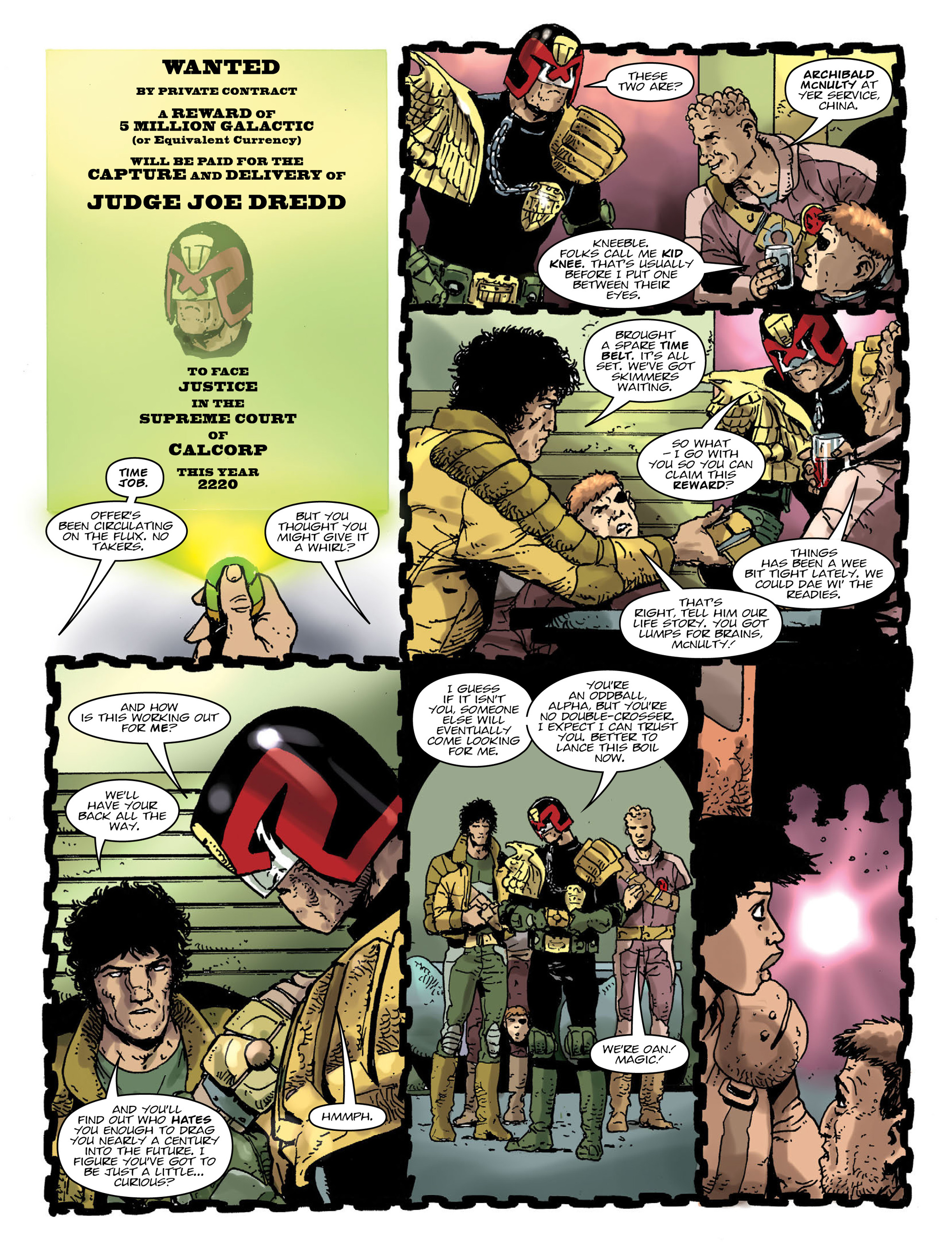 Read online 2000 AD comic -  Issue #2000 - 6