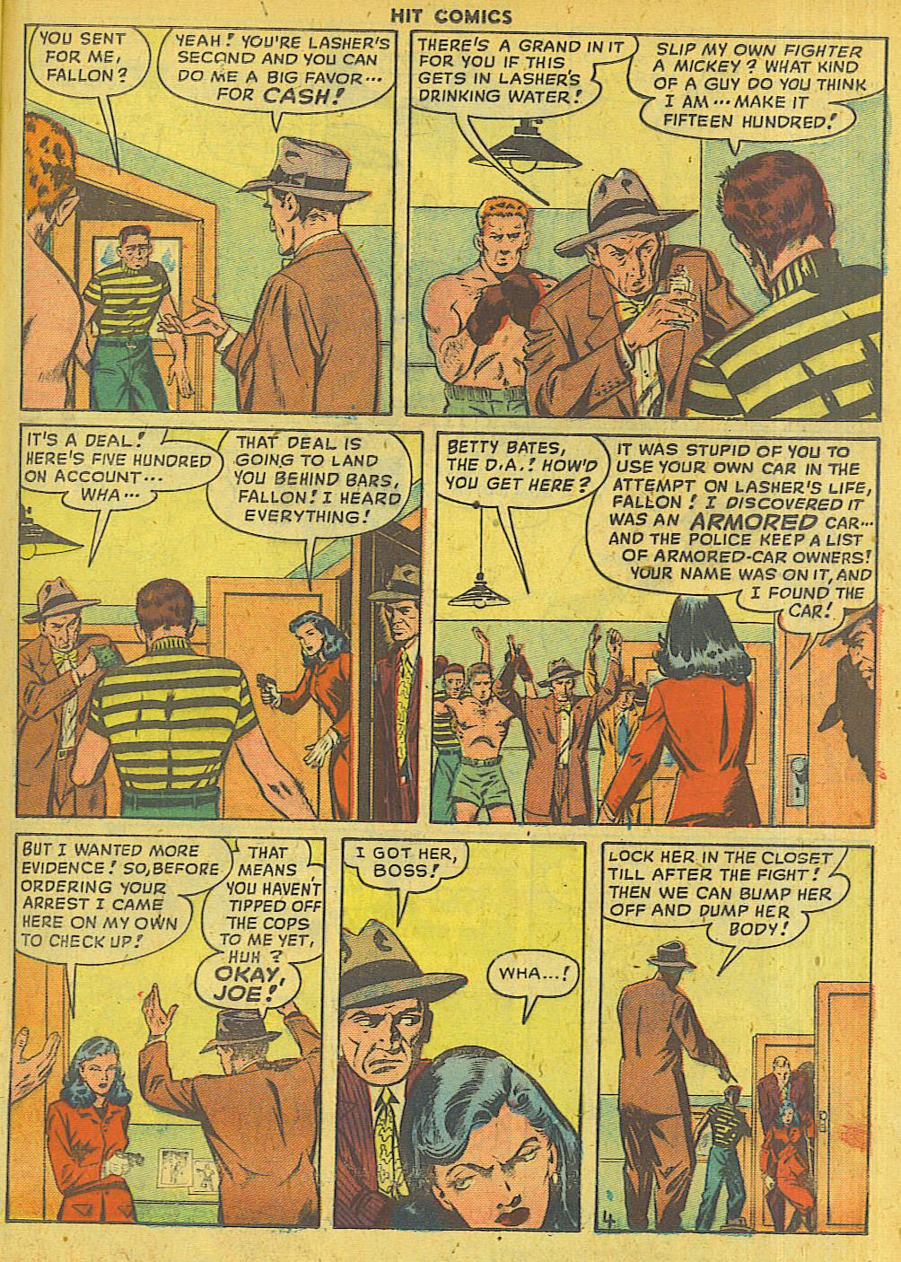 Read online Hit Comics comic -  Issue #56 - 35