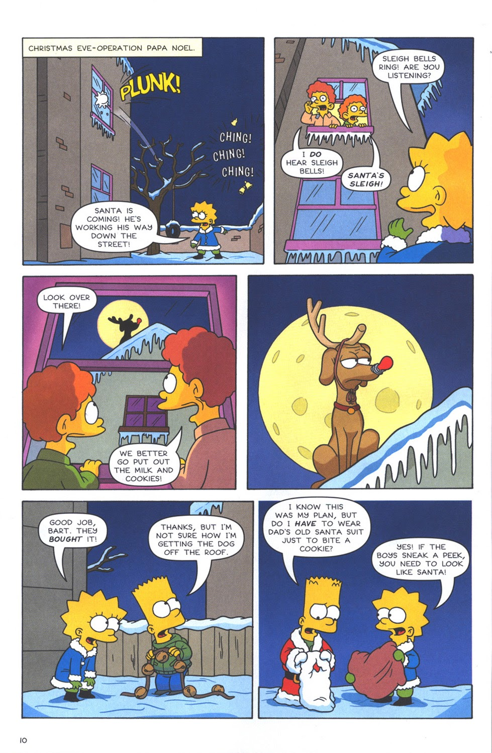 Read online The Simpsons Winter Wingding comic -  Issue #3 - 12